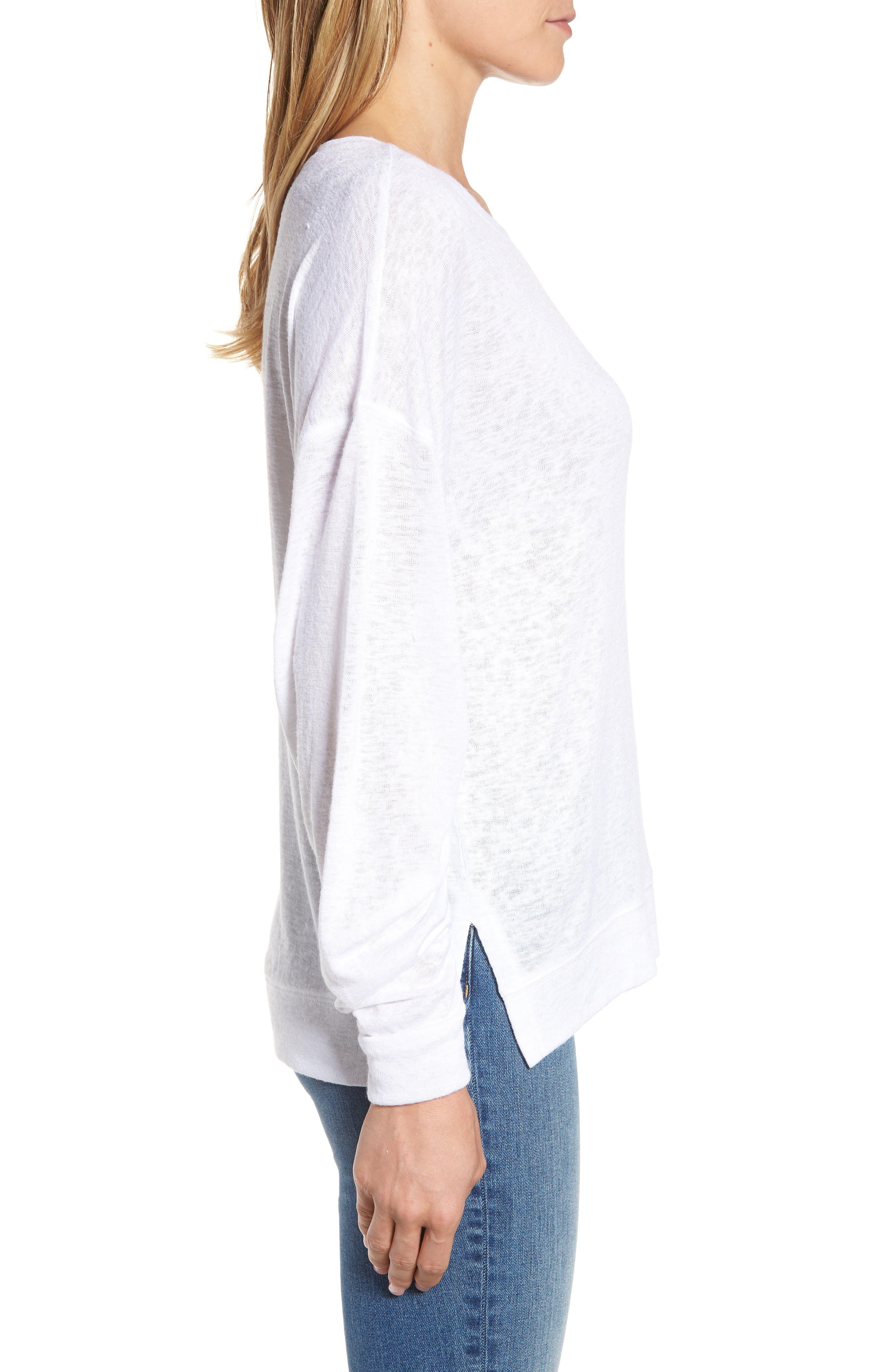 Tuck Sleeve Sweatshirt,                             Alternate thumbnail 16, color,