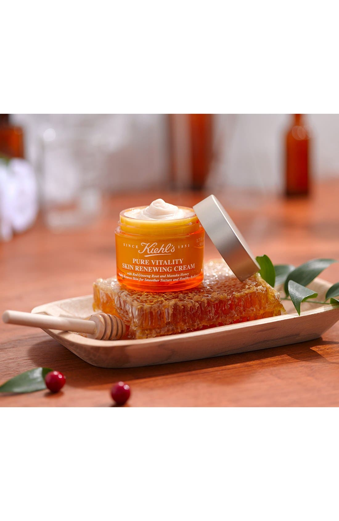 Pure Vitality Skin Renewing Cream,                             Alternate thumbnail 3, color,                             000