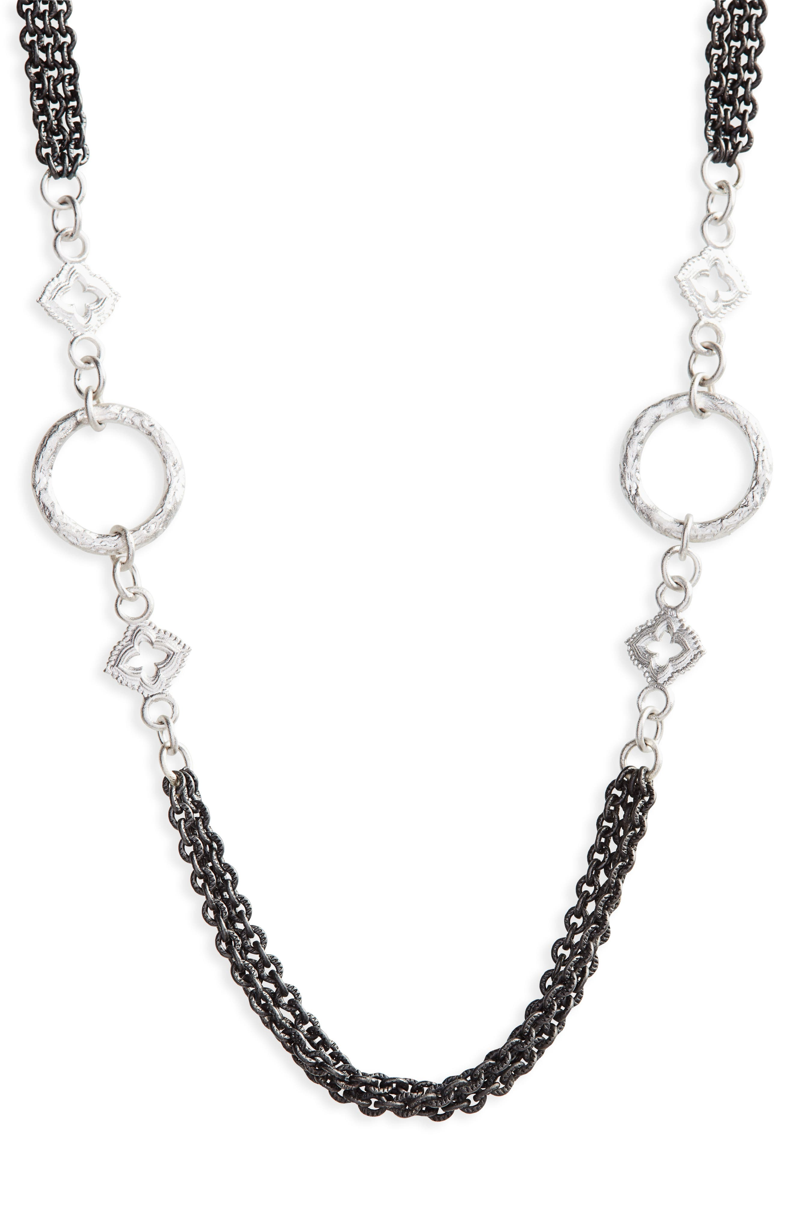 ARMENTA,                             New World Multistrand Collar Necklace,                             Main thumbnail 1, color,                             040