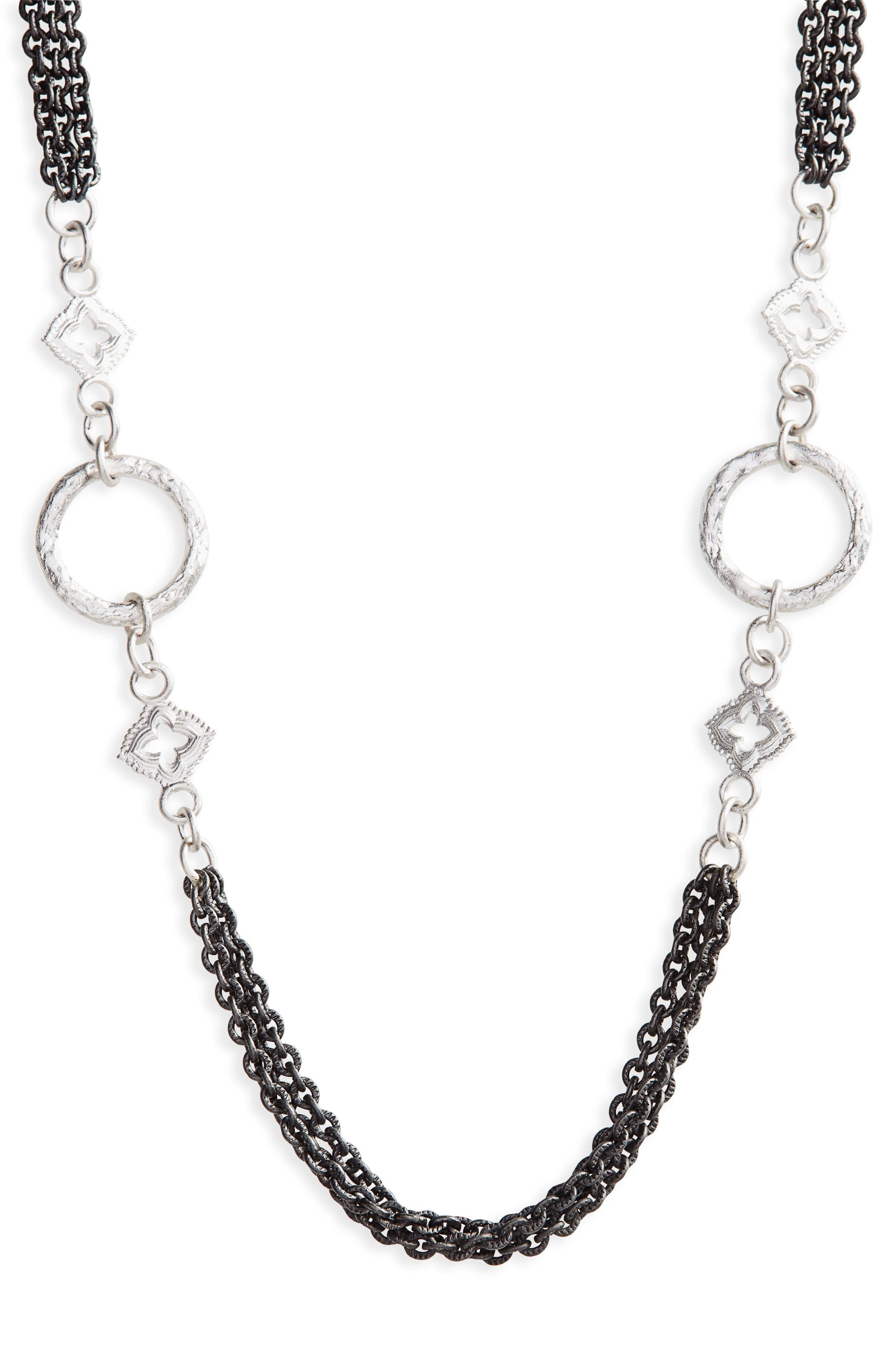 ARMENTA New World Multistrand Collar Necklace, Main, color, 040