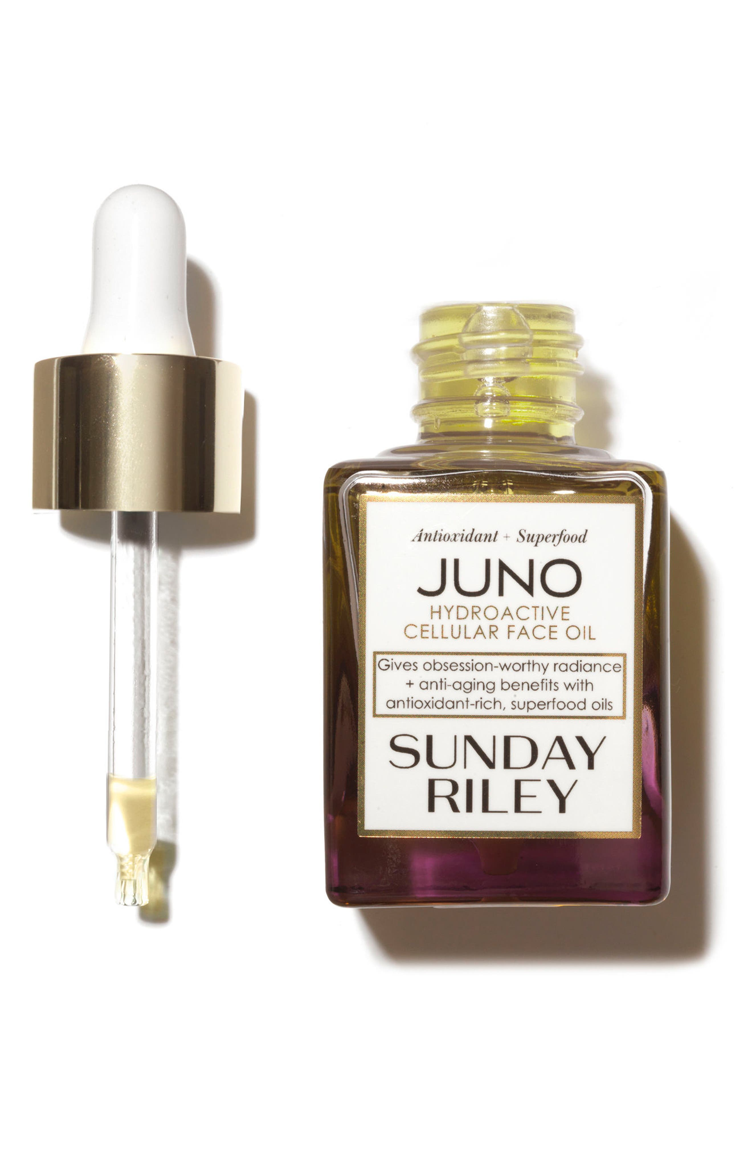 SPACE.NK.apothecary Sunday Riley Juno Essential Face Oil,                             Alternate thumbnail 2, color,