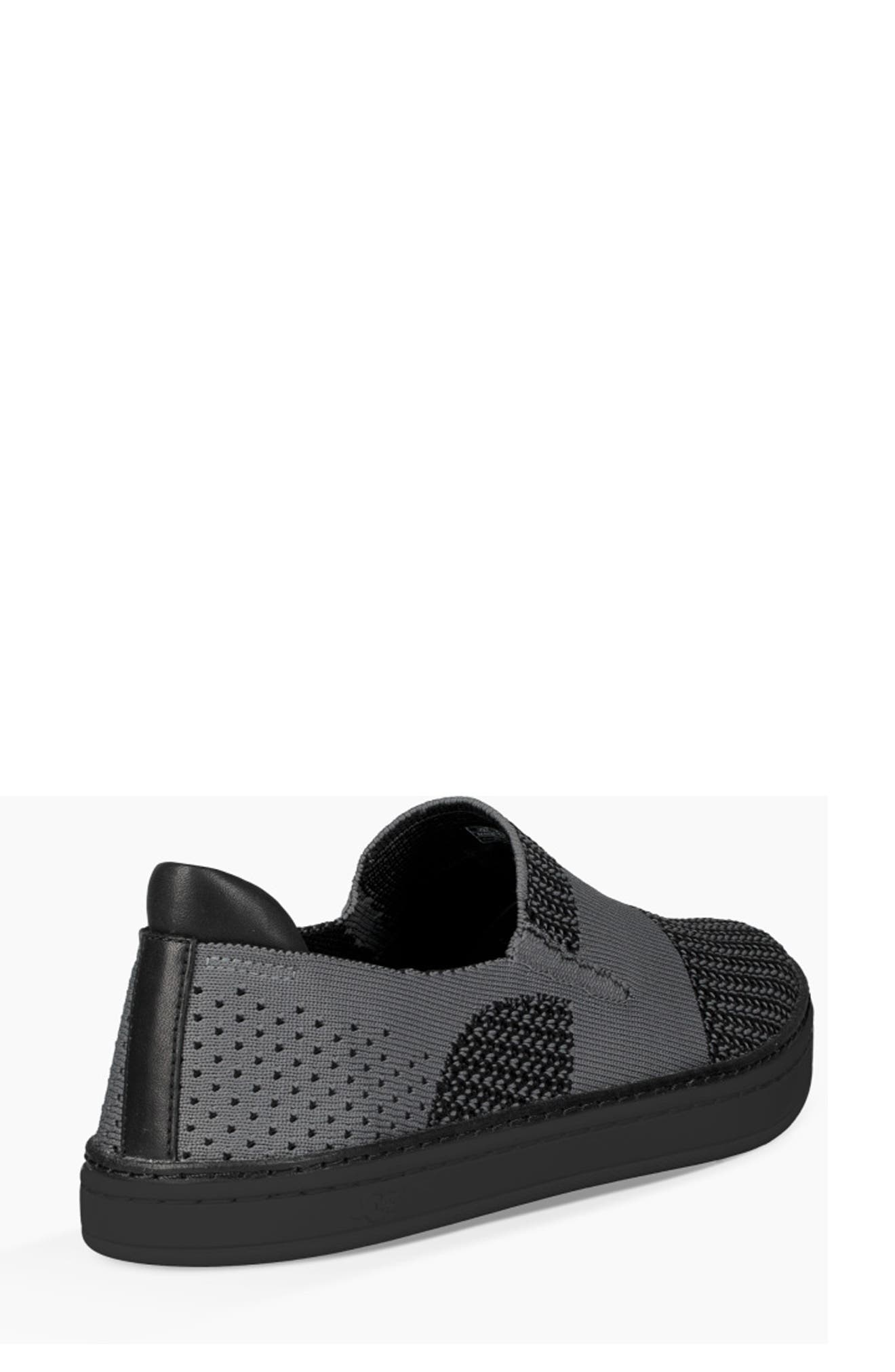 Sammy Sneaker,                             Alternate thumbnail 2, color,                             BLACK/ BLACK FABRIC