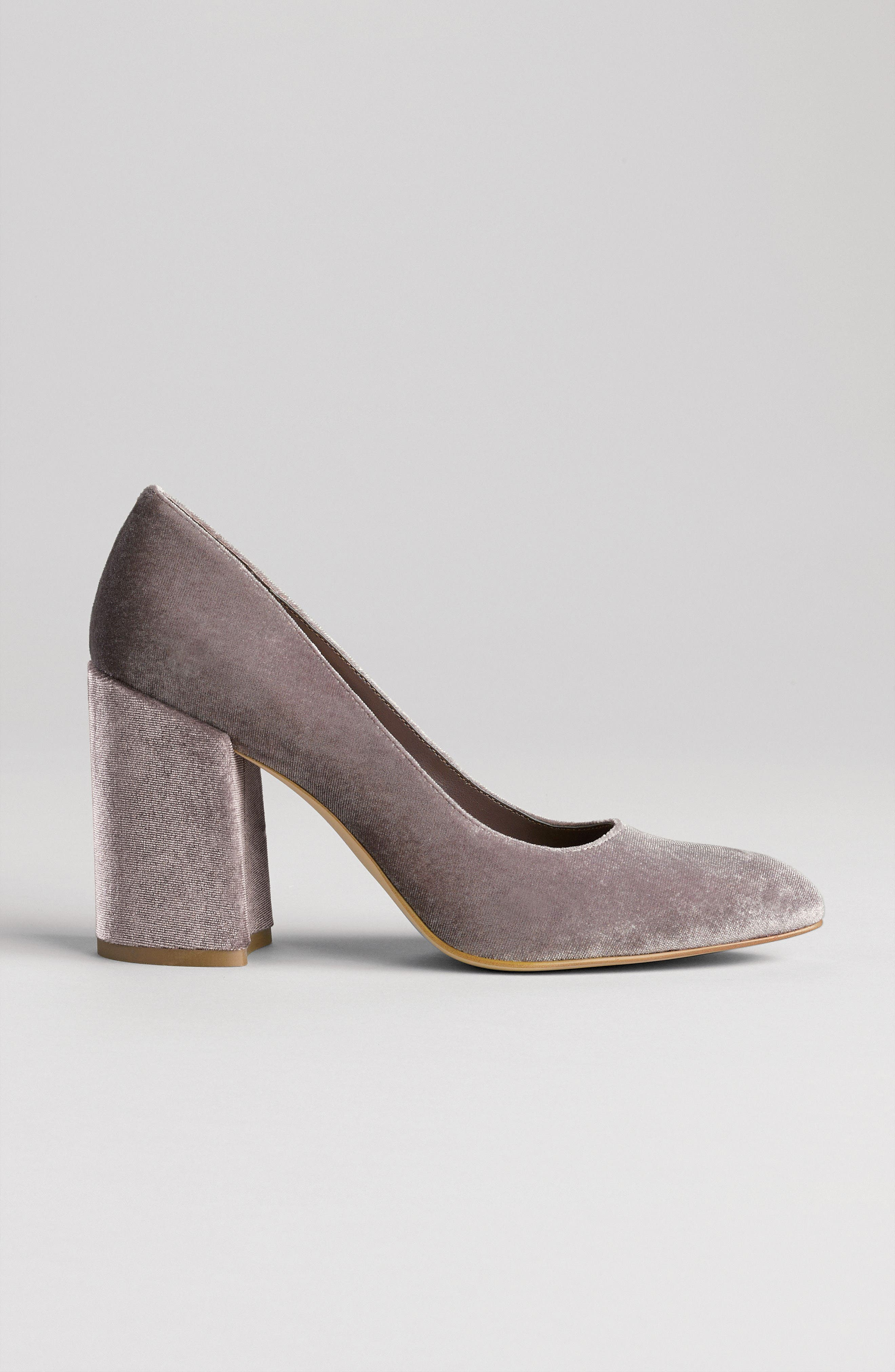 LEITH,                             Nik Block Heel Pump,                             Alternate thumbnail 7, color,                             257
