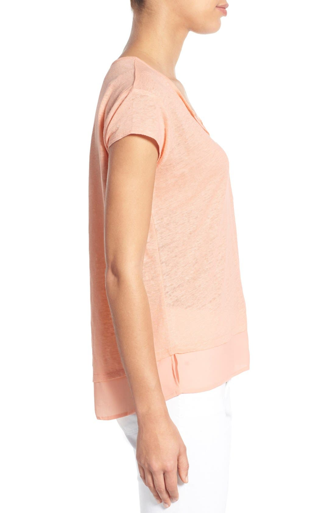 City Mix Layered Look Tee,                             Alternate thumbnail 85, color,