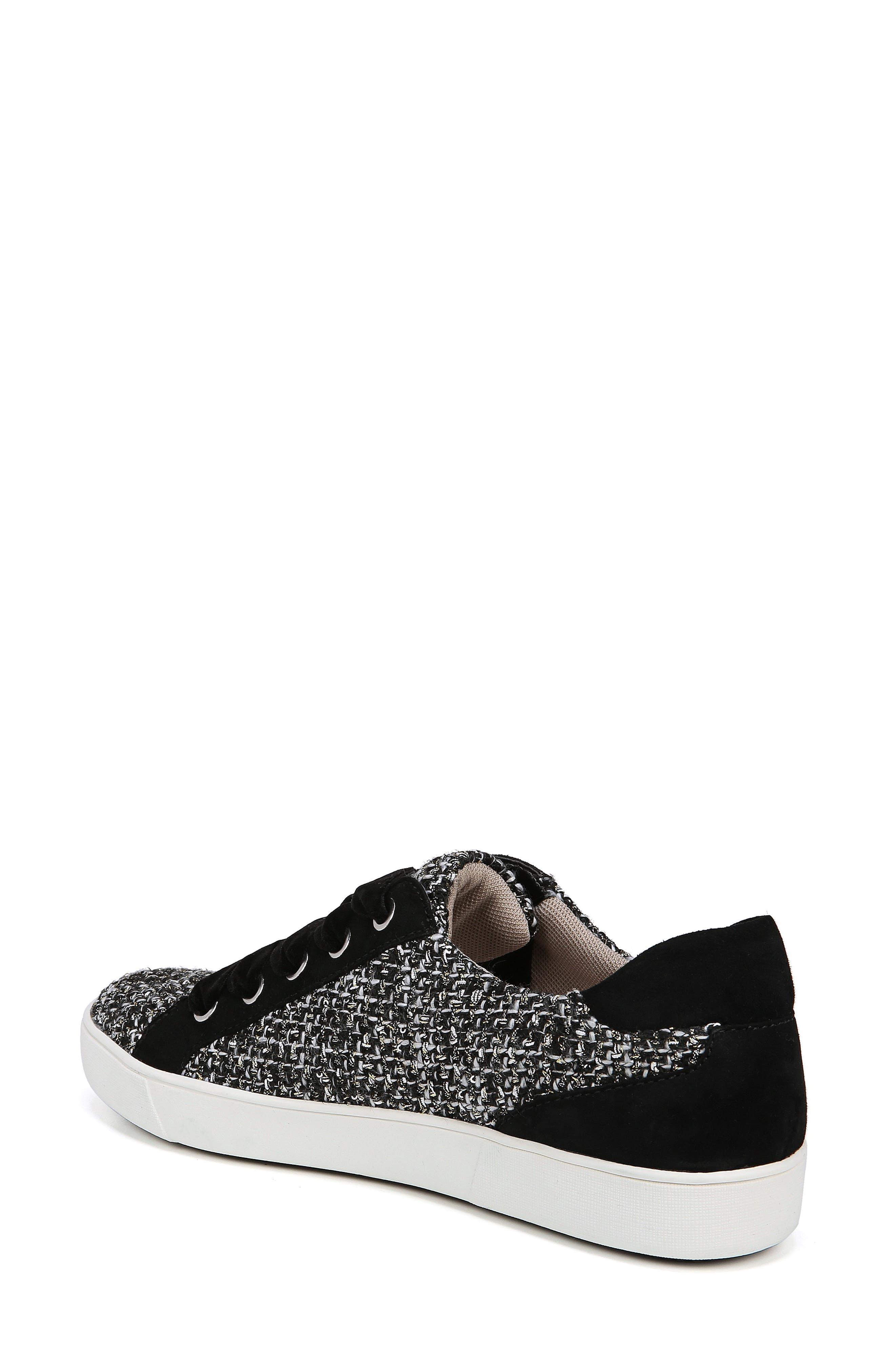 Morrison Sneaker,                             Alternate thumbnail 2, color,                             BLACK/ WHITE TWEED FABRIC