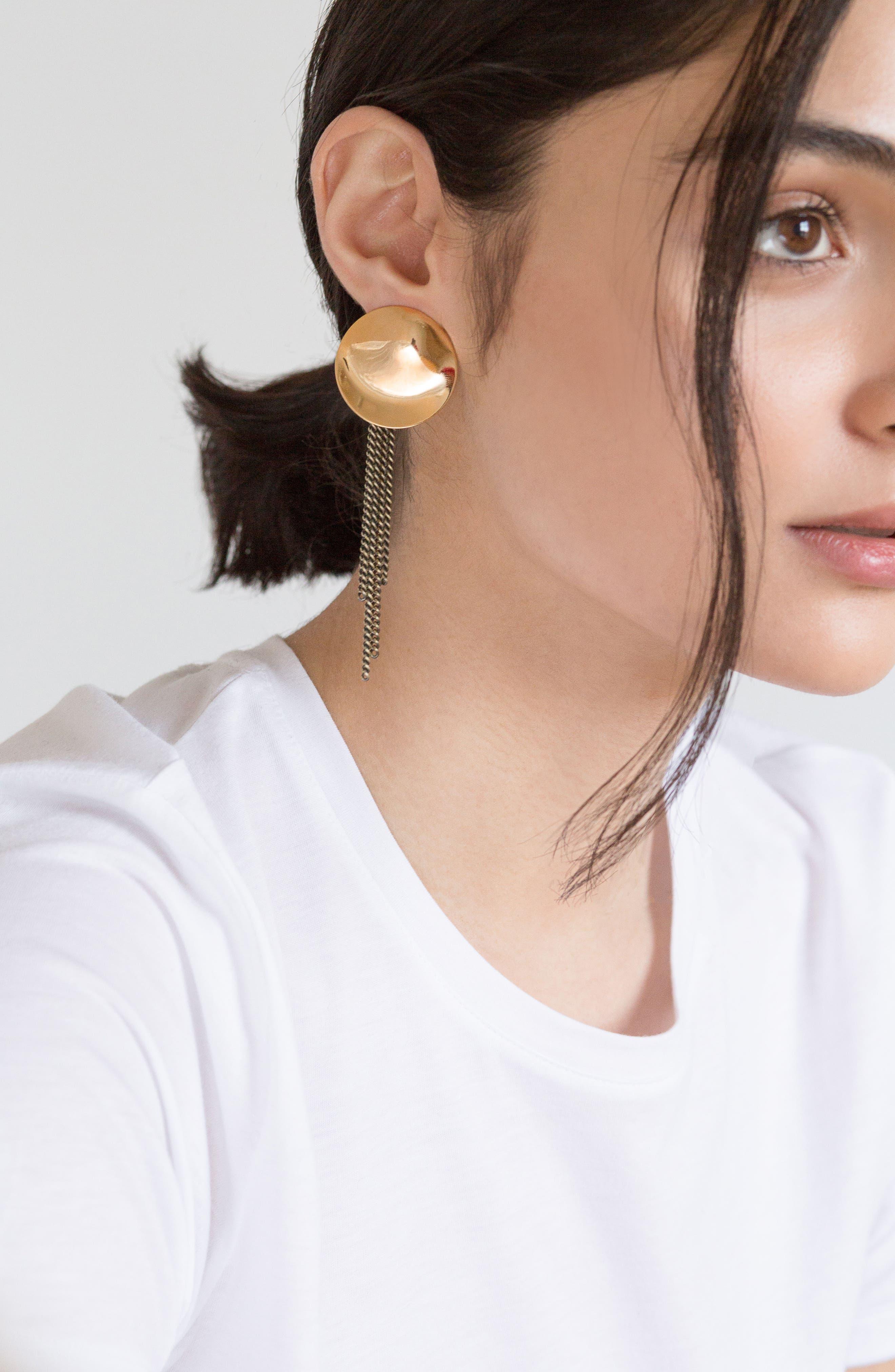 Penny Moon Duster Earrings,                             Alternate thumbnail 5, color,
