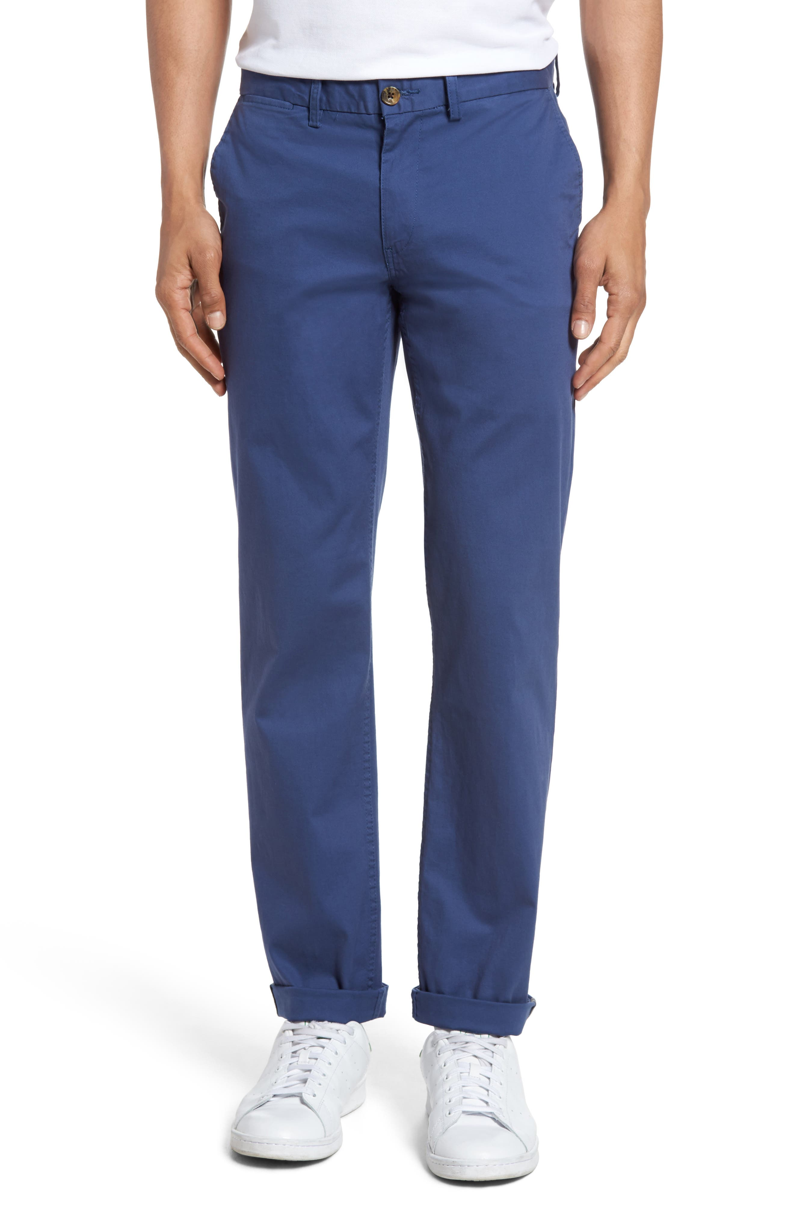 Slim Fit Stretch Chinos,                             Main thumbnail 9, color,