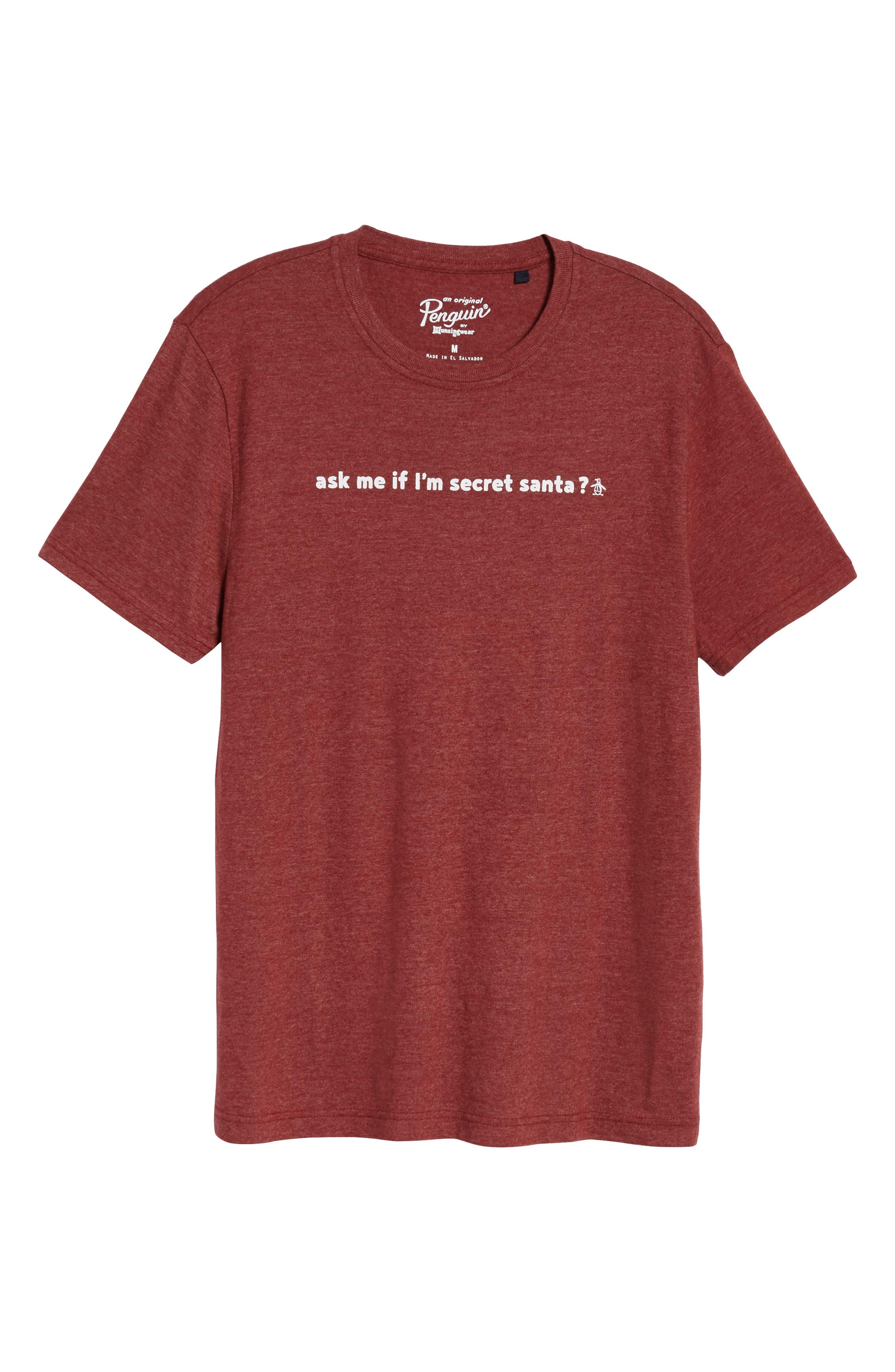 Secret Santa T-Shirt,                             Alternate thumbnail 6, color,