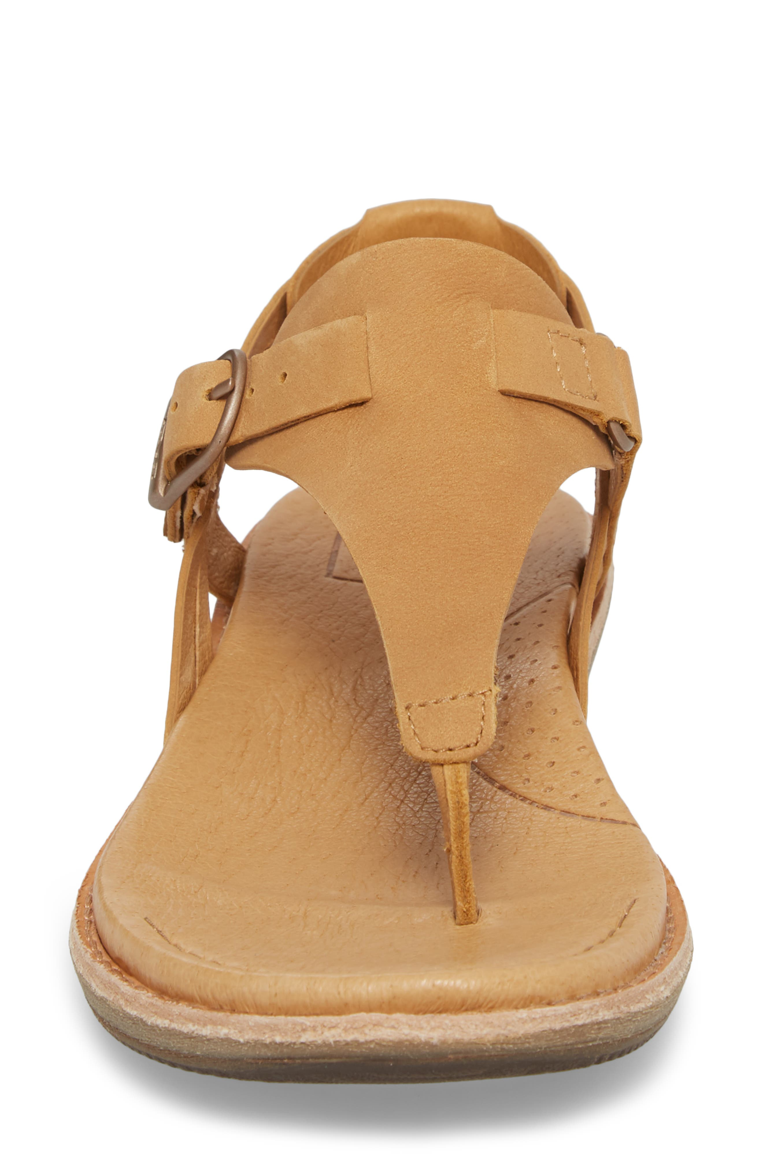 Encanta V-Strap Sandal,                             Alternate thumbnail 4, color,                             TAN