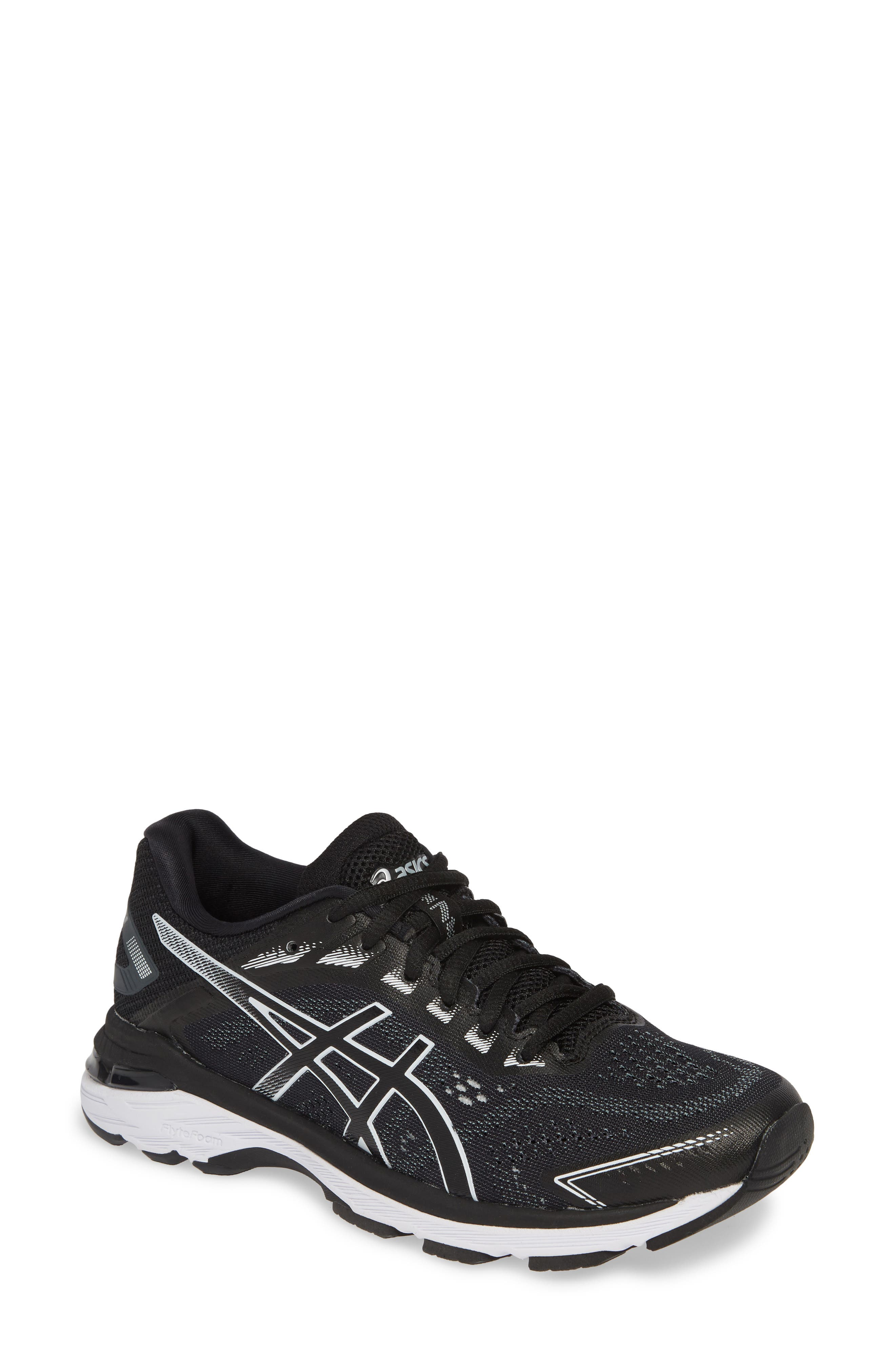 ASICS<SUP>®</SUP>,                             GT-2000 7 Running Shoe,                             Main thumbnail 1, color,                             BLACK/ WHITE