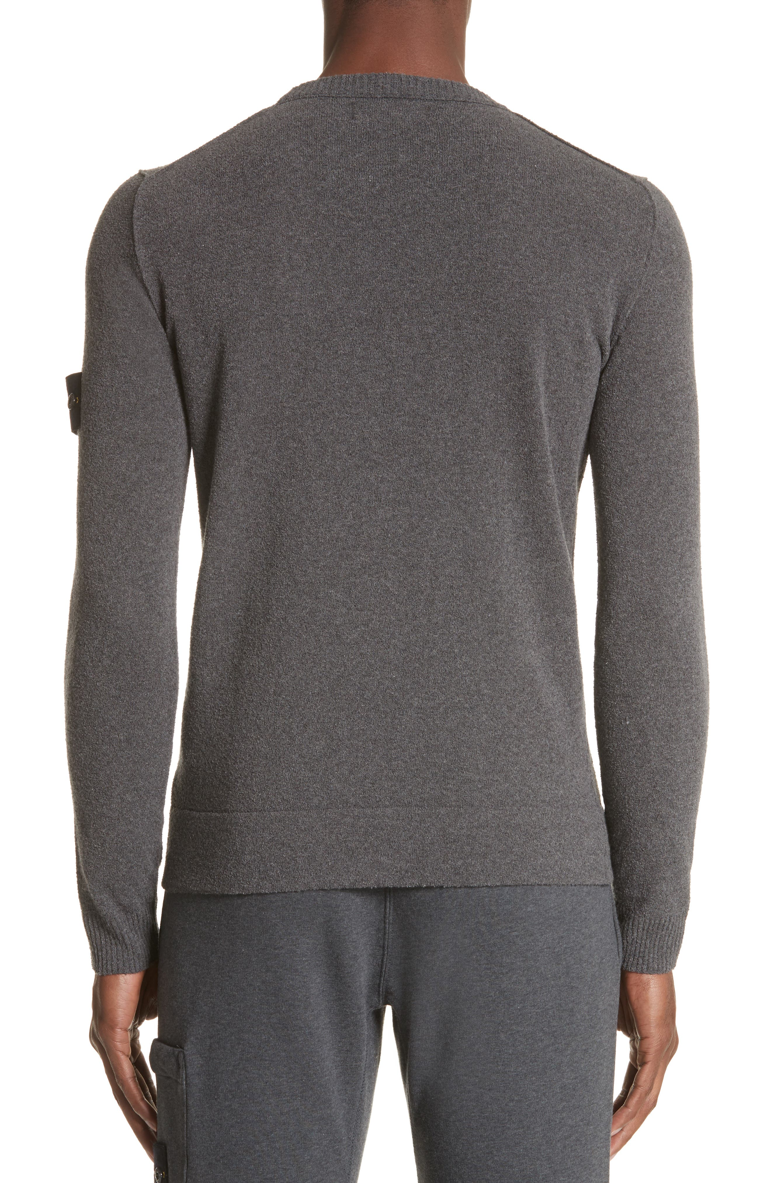 Terry Knit Crewneck Sweatshirt,                             Alternate thumbnail 2, color,                             020