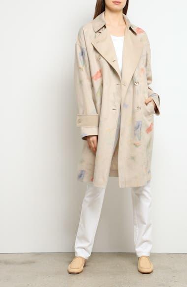Laurita Linen Trench Coat, video thumbnail