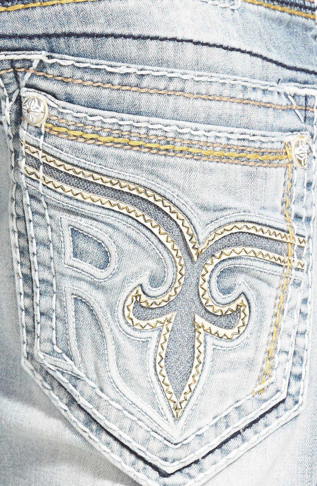 Straight Leg Jeans,                             Alternate thumbnail 3, color,                             431