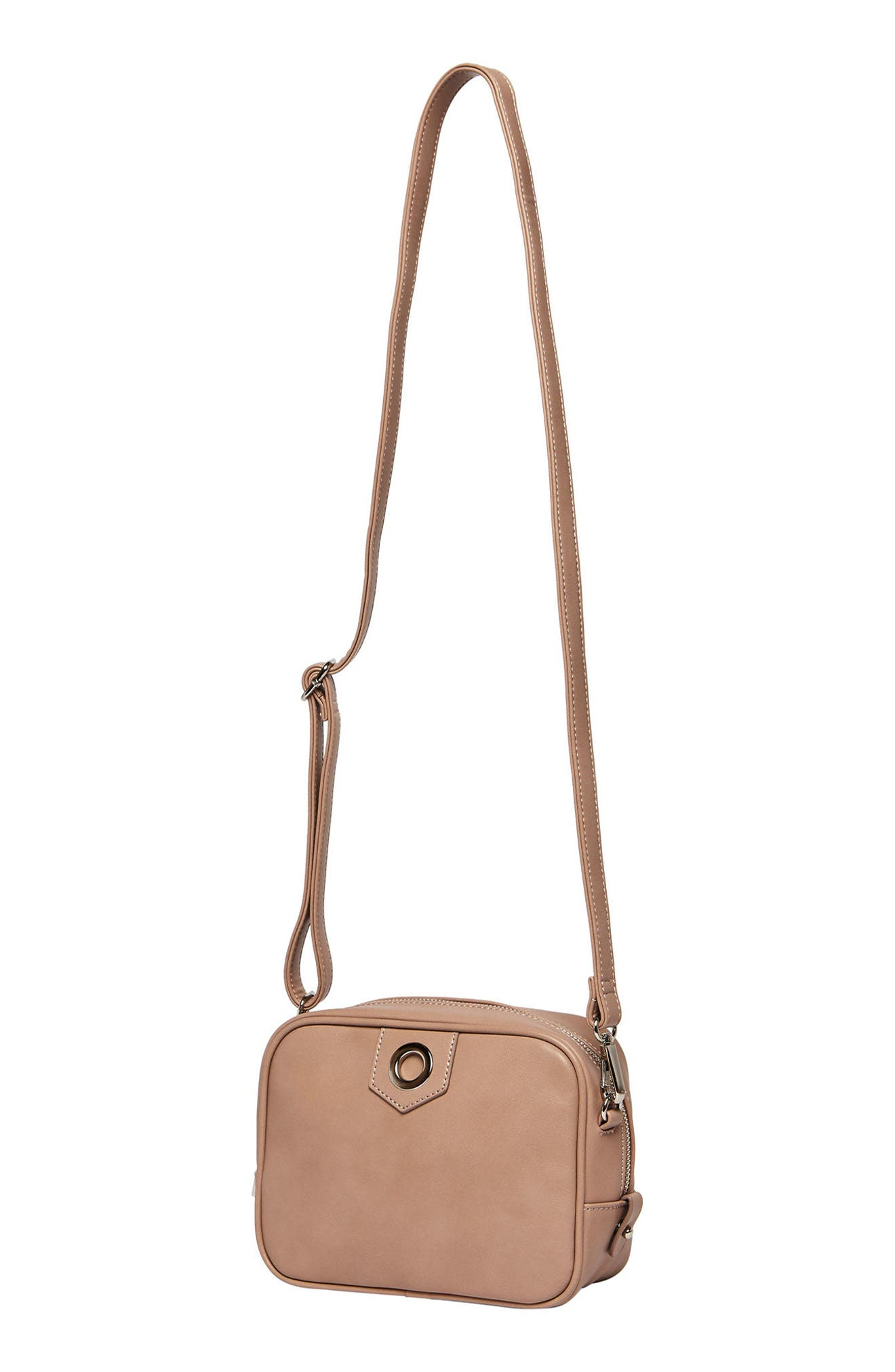 Dakota Vegan Leather Crossbody Bag,                             Alternate thumbnail 5, color,