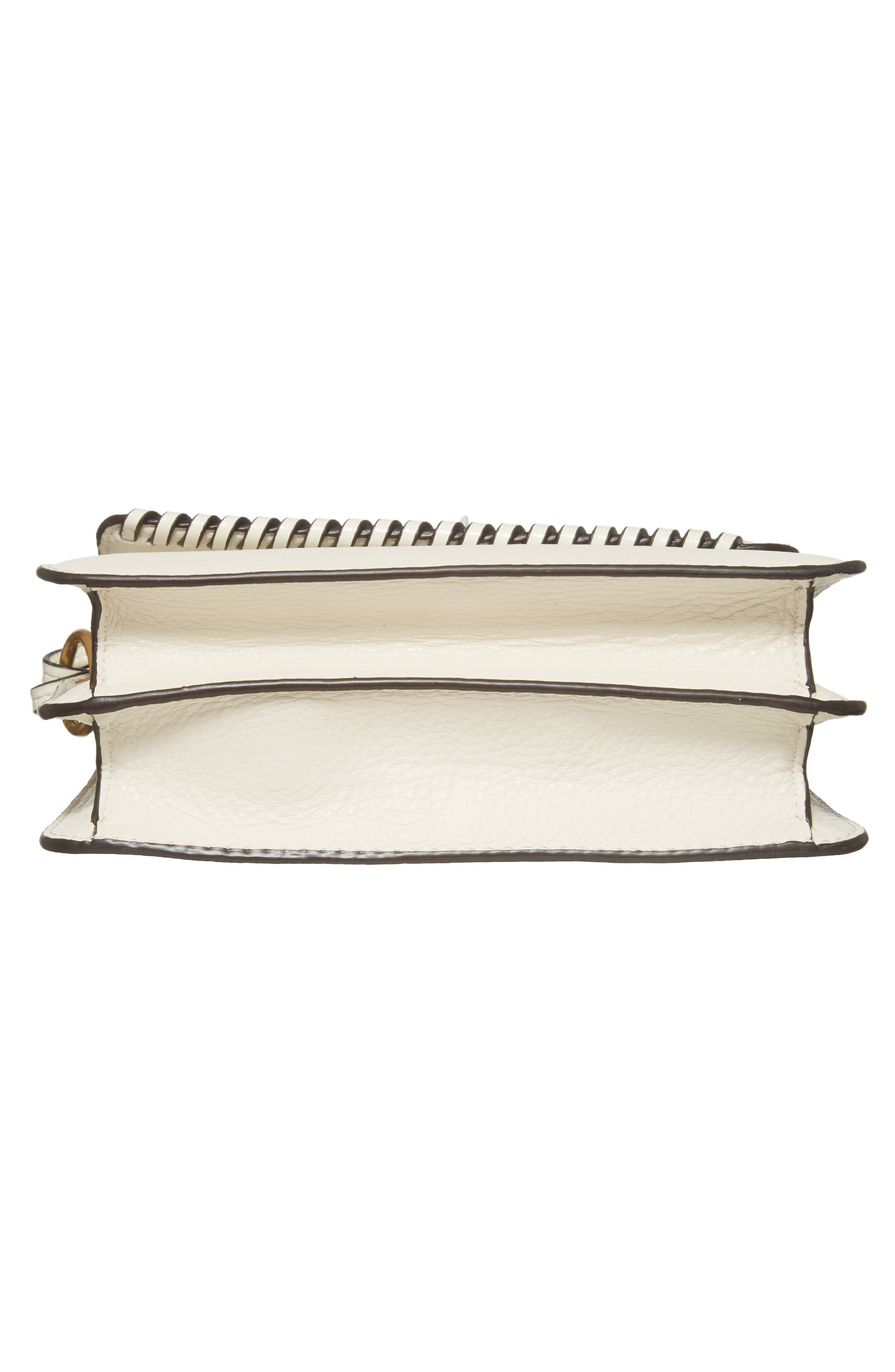 McGraw Whipstitch Leather Crossbody Bag,                             Alternate thumbnail 6, color,                             100