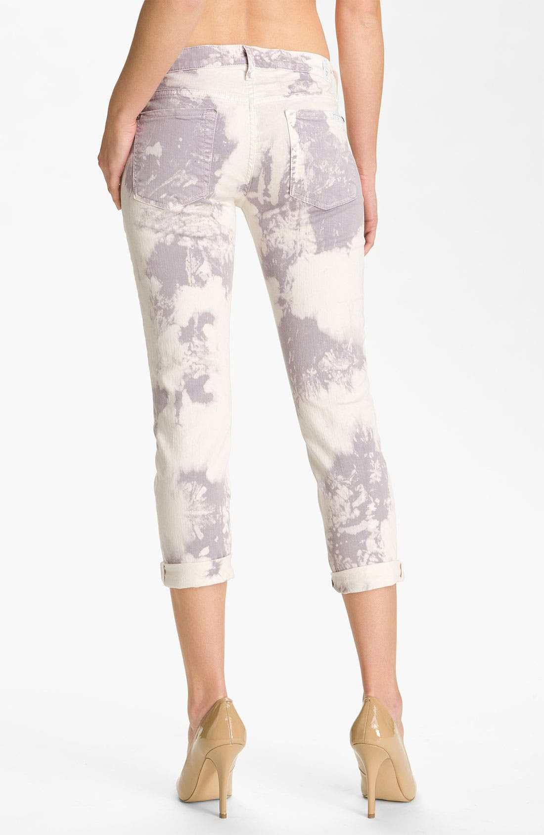 7 FOR ALL MANKIND<SUP>®</SUP>,                             'Roxanne' Crop Skinny Jeans,                             Alternate thumbnail 2, color,                             500
