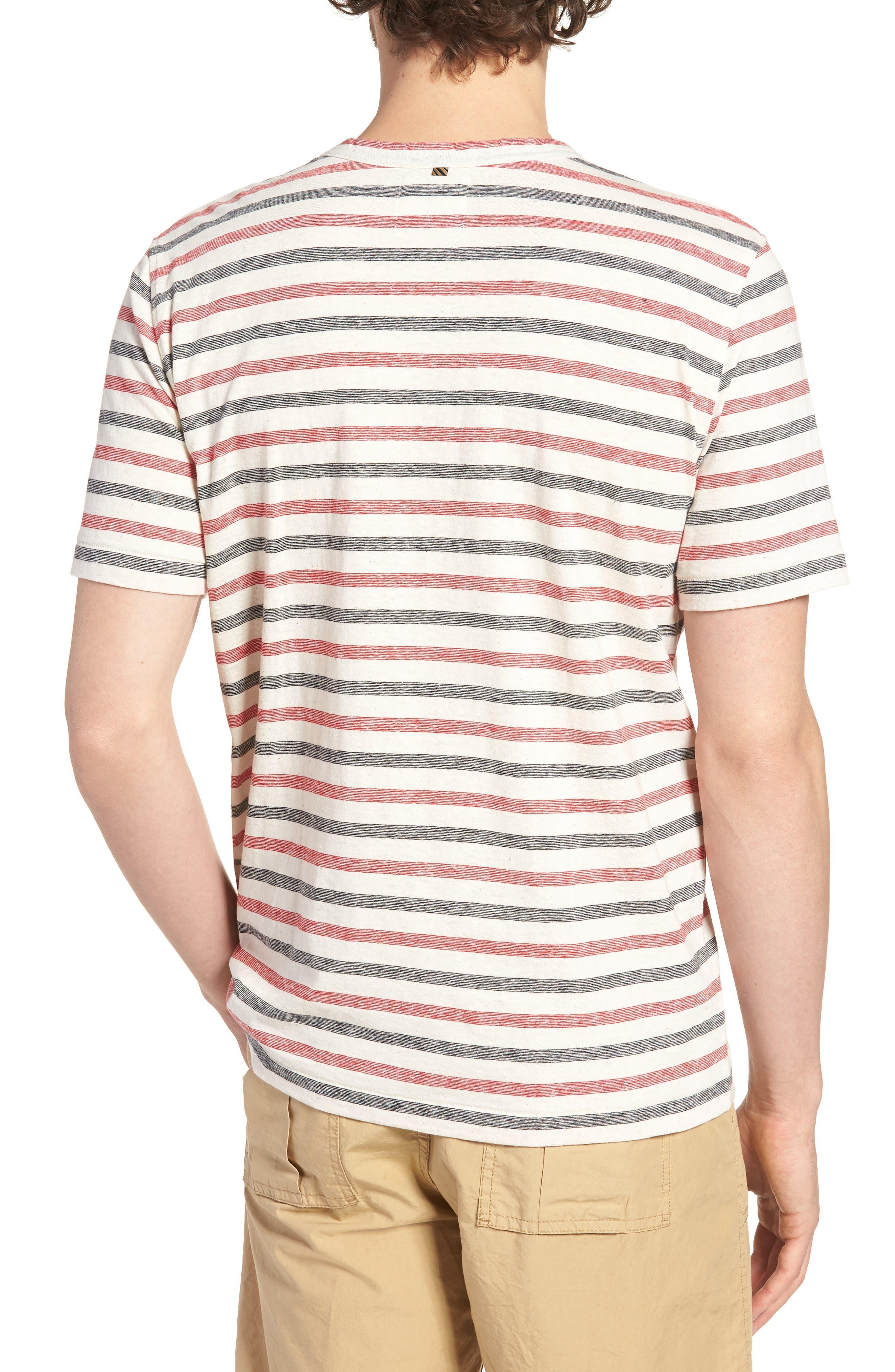 Striped T-Shirt,                             Alternate thumbnail 2, color,                             610
