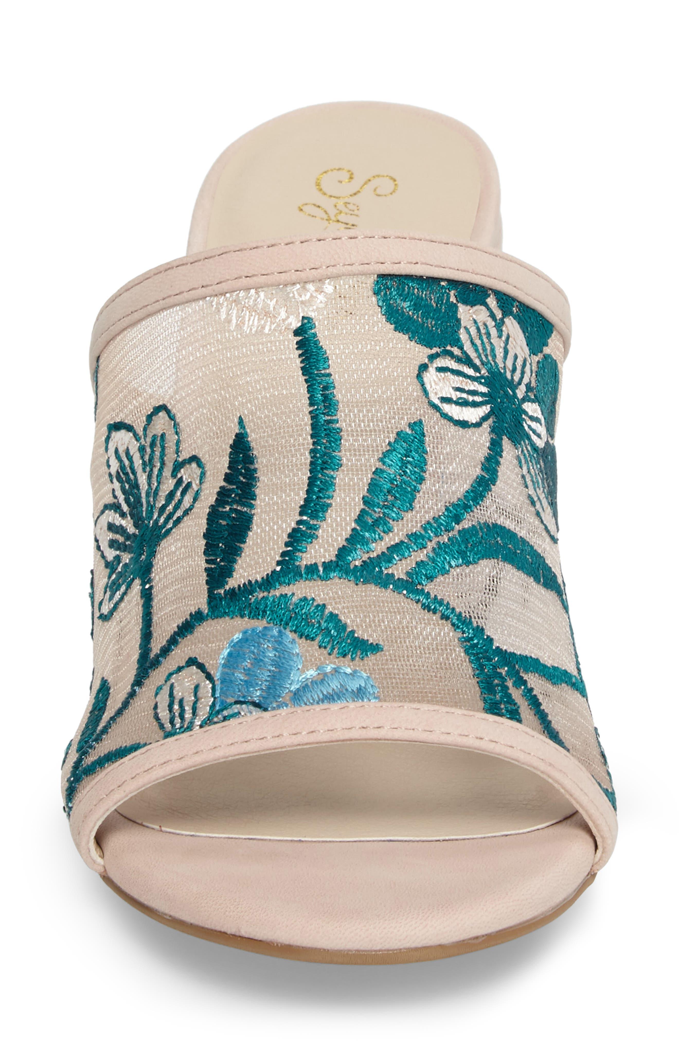 Nursery Block Heel Sandal,                             Alternate thumbnail 4, color,                             650