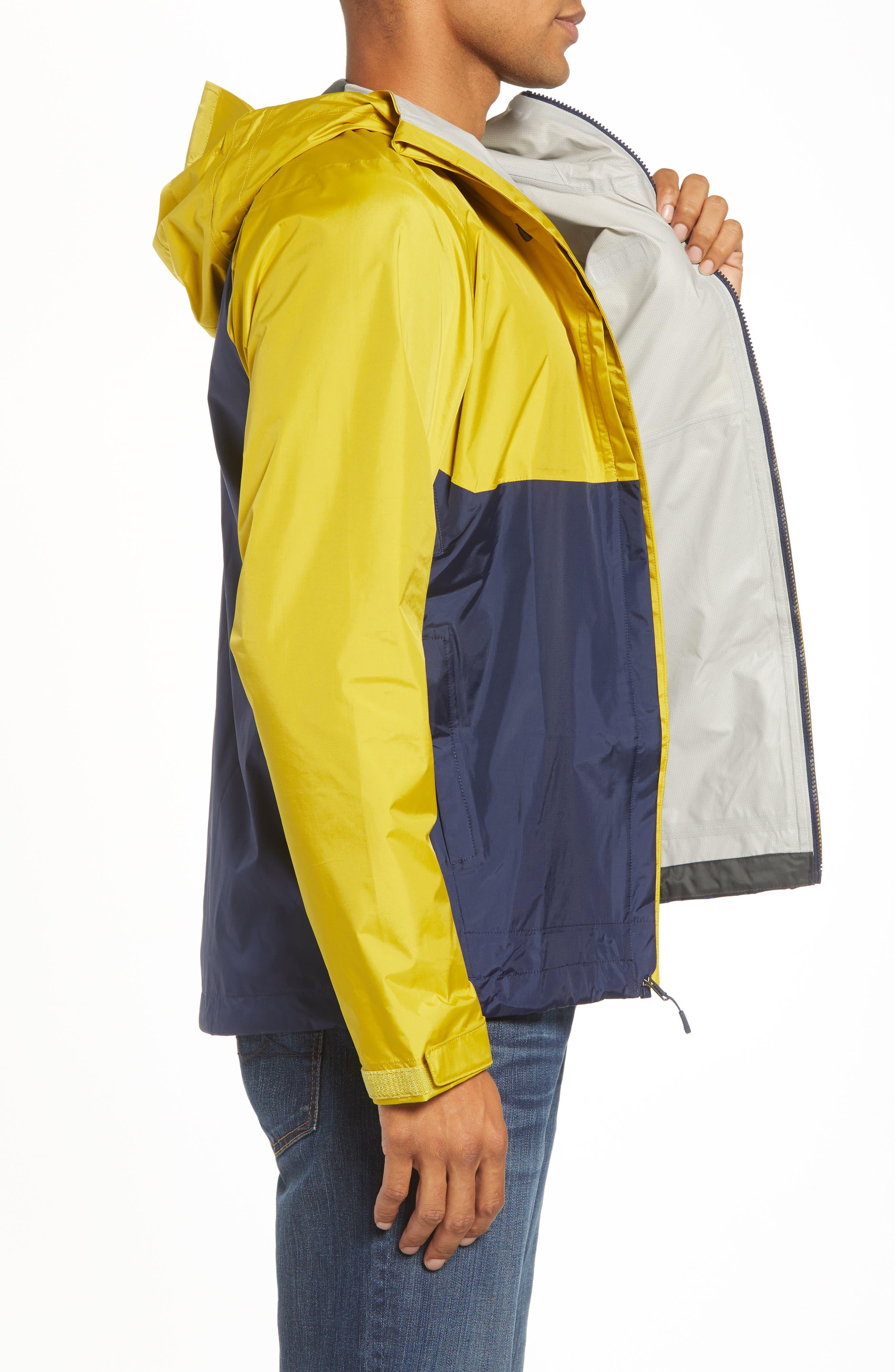 'Torrentshell' Packable Rain Jacket,                             Alternate thumbnail 3, color,                             TEXTILE GREEN