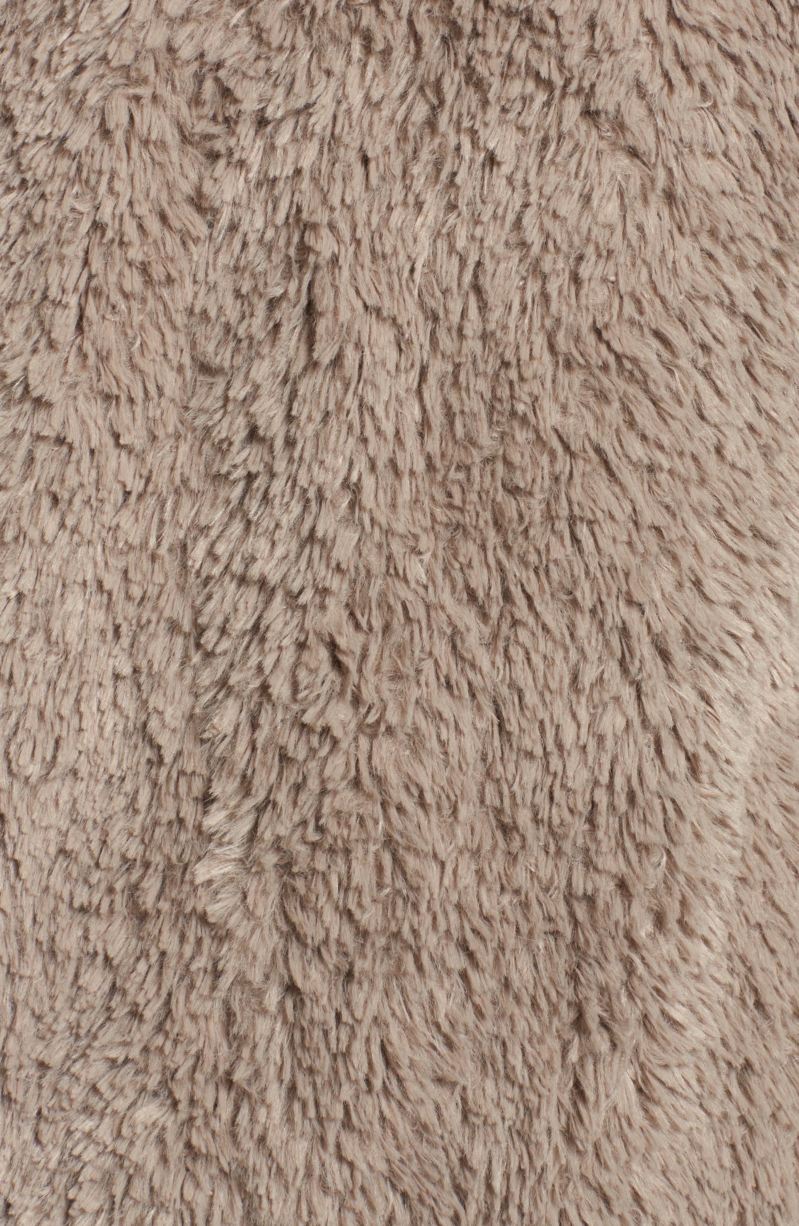'Teddy Bear' Faux Fur Clutch Coat,                             Alternate thumbnail 6, color,                             254