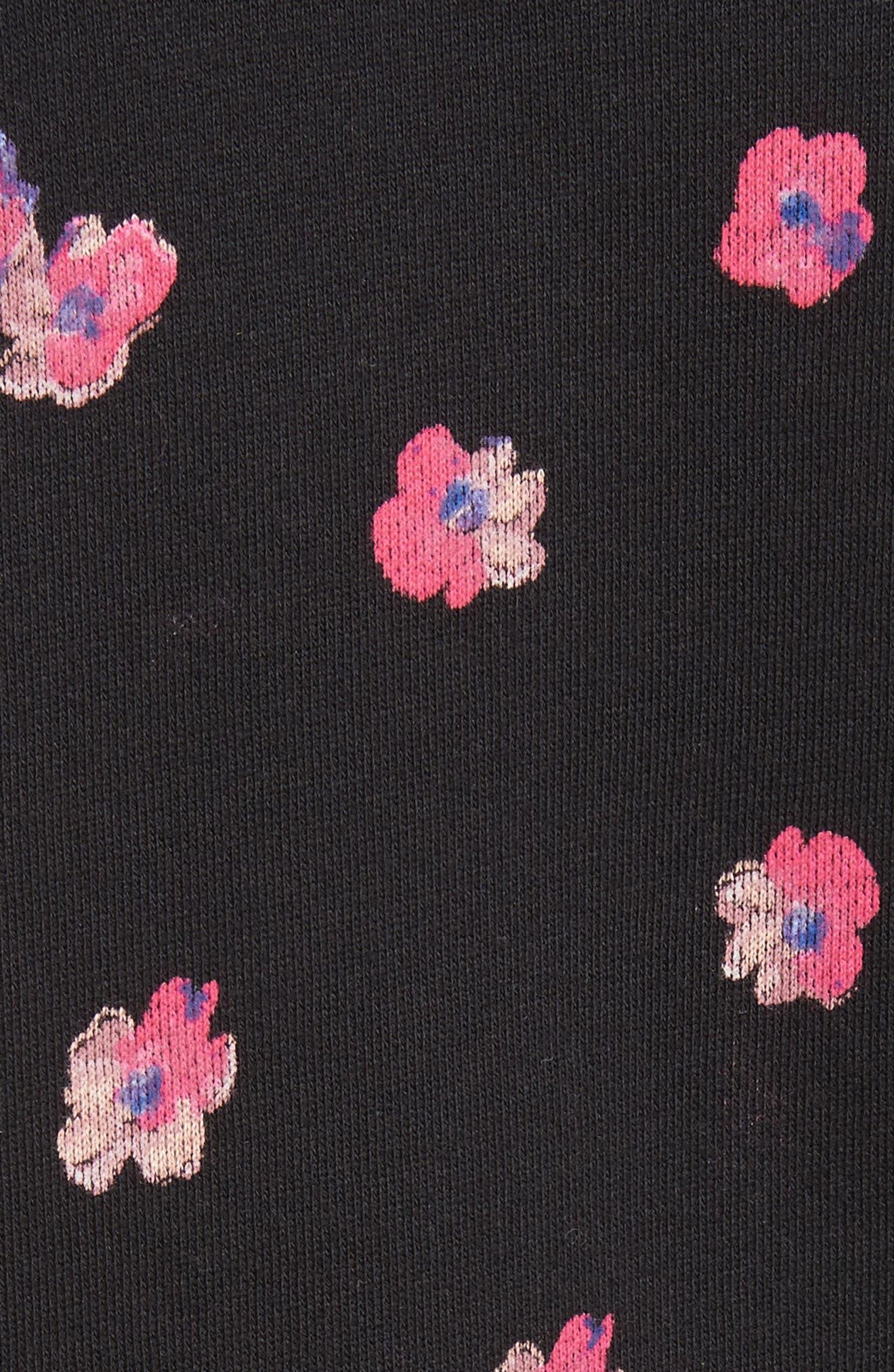 Floriana Floral Sweatshirt,                             Alternate thumbnail 5, color,