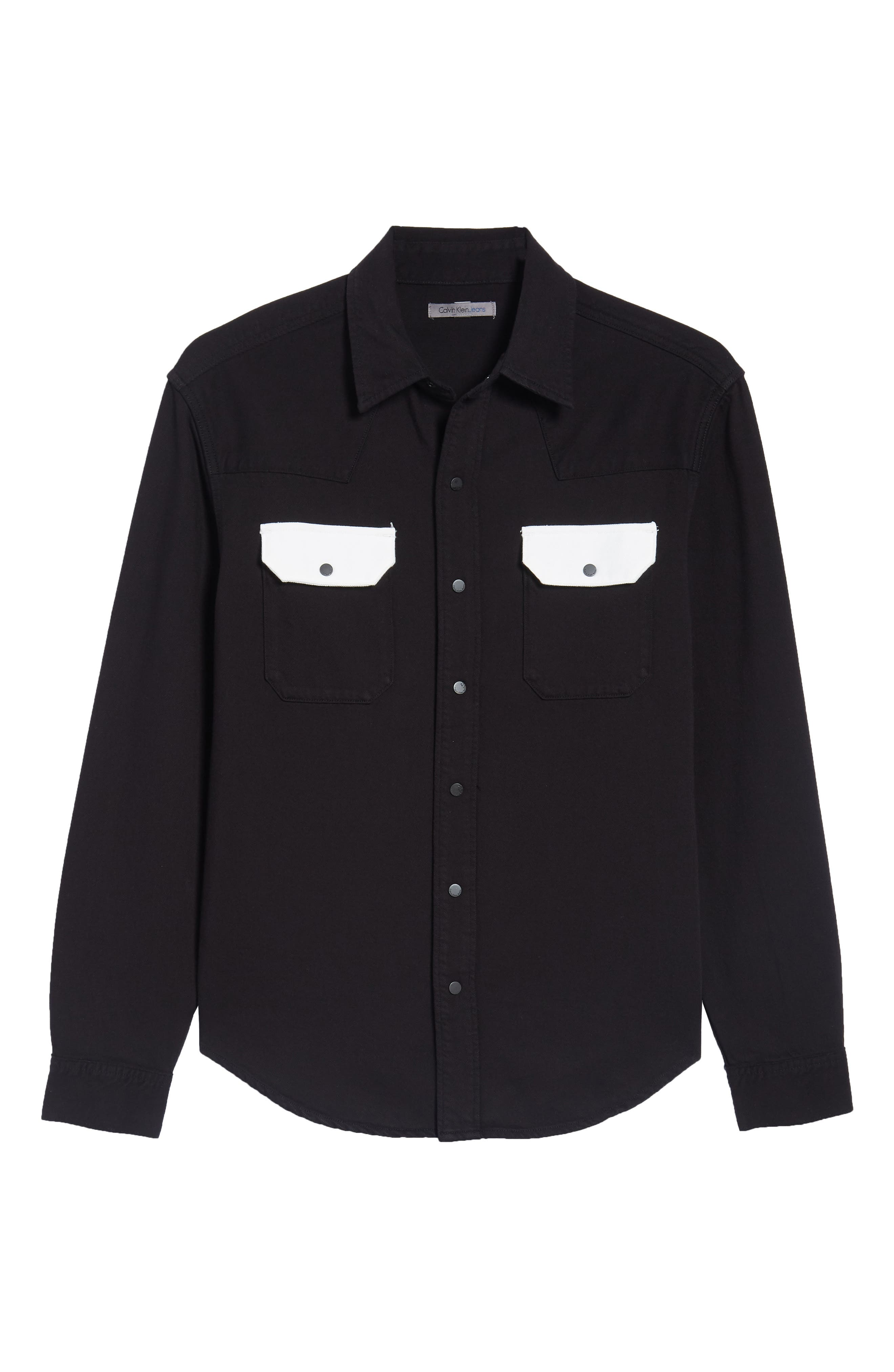 Archive Western Blocked Shirt,                             Alternate thumbnail 6, color,