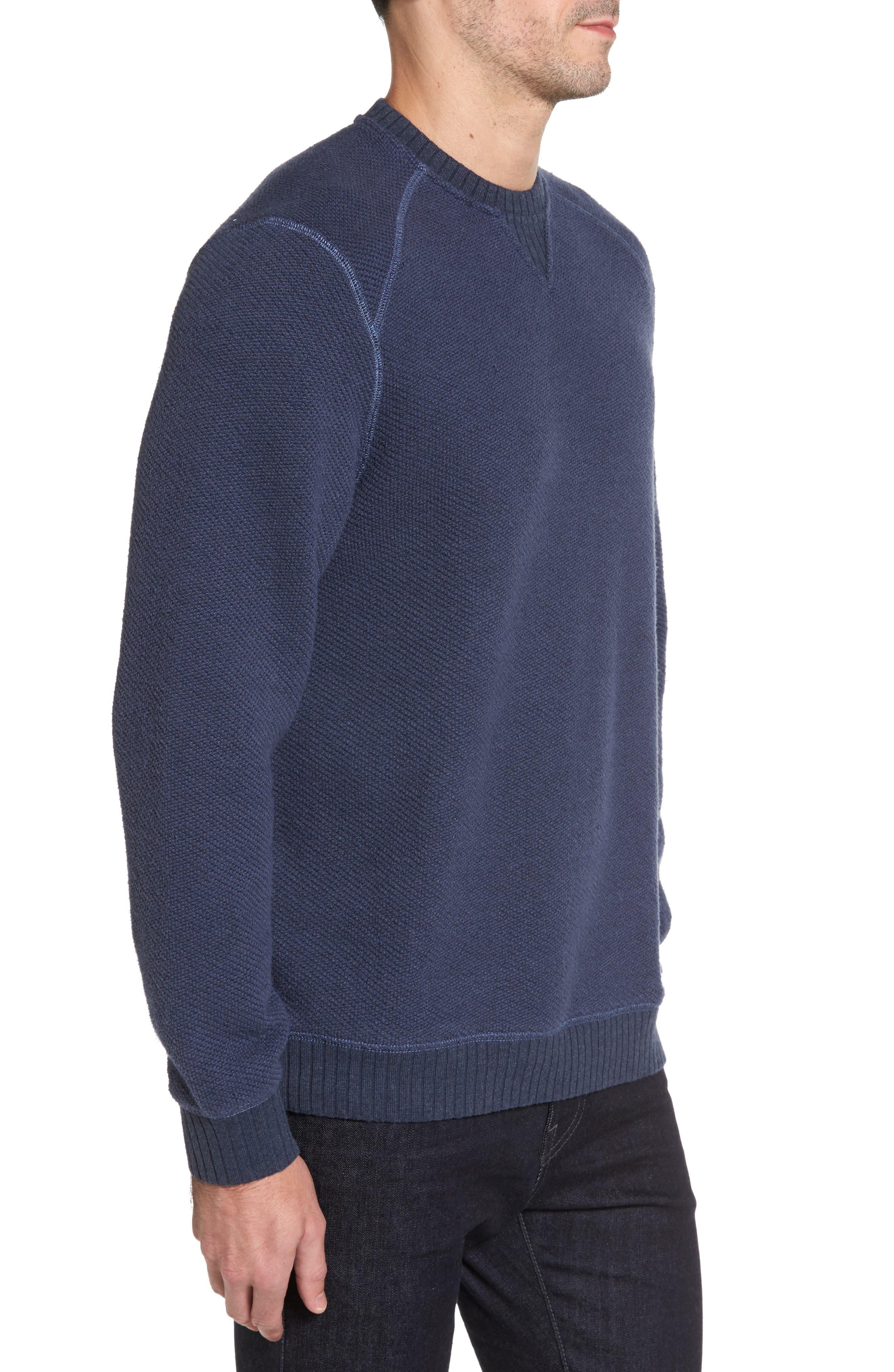 Surfari Crewneck Sweatshirt,                             Alternate thumbnail 3, color,                             001