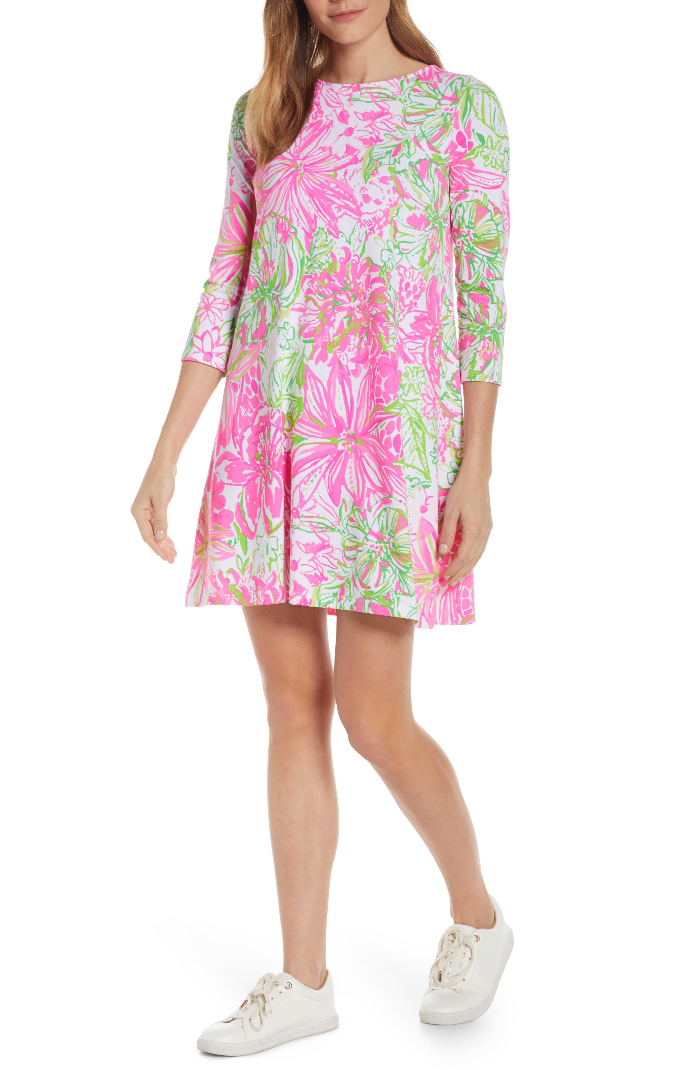 Lilly Pulitzer Ophelia Swing Dress, Pink
