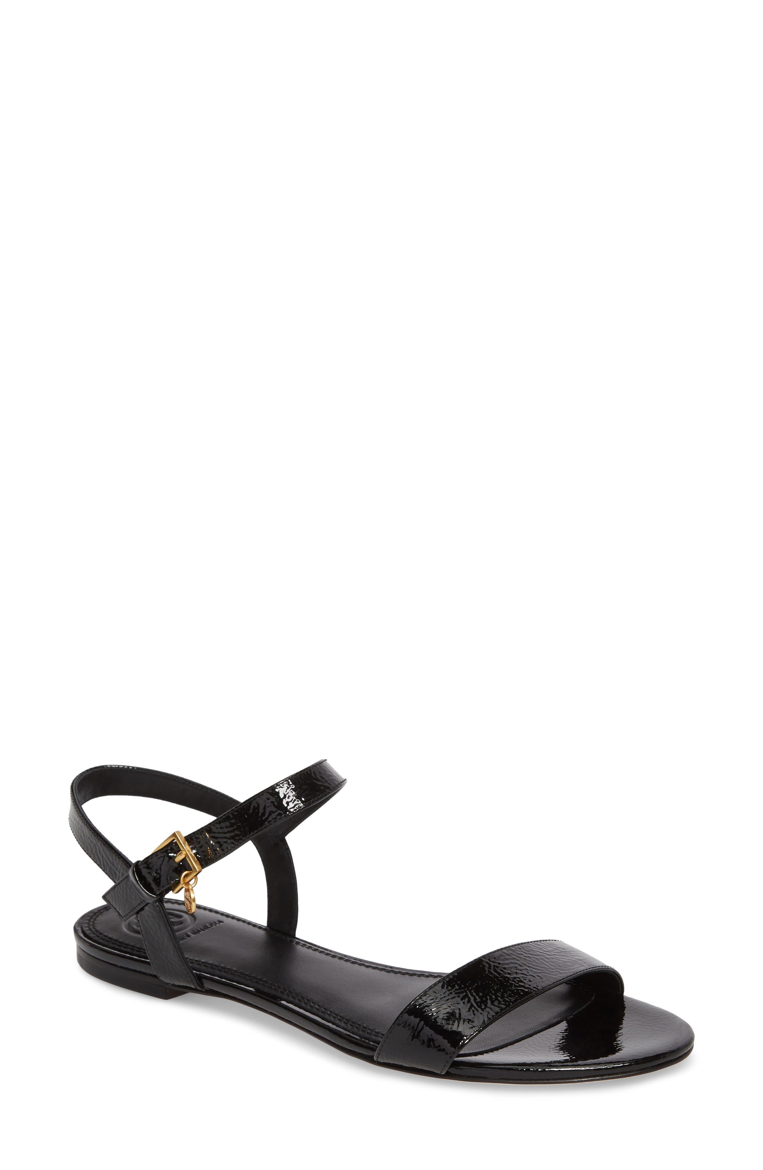 Laurel Strappy Sandal,                         Main,                         color, 001