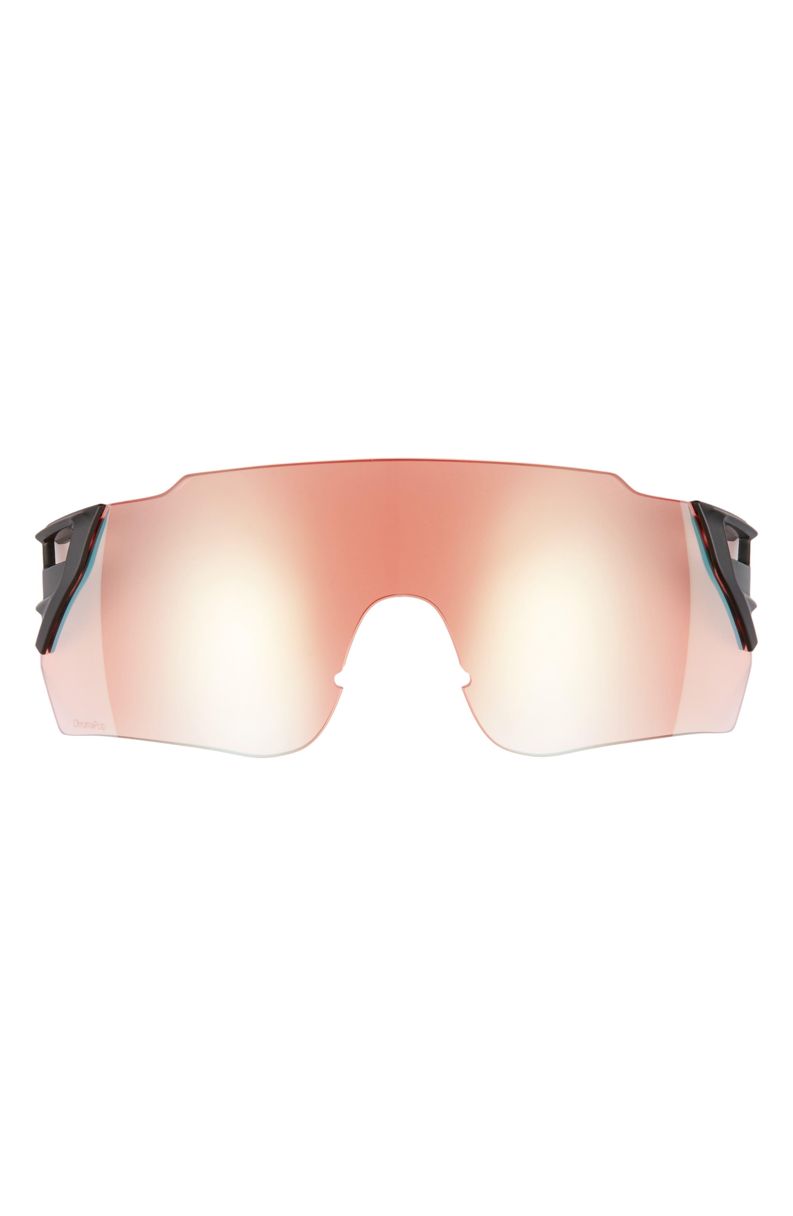 Attack Max 125mm ChromaPop<sup>™</sup> Polarized Shield Sunglasses,                             Alternate thumbnail 5, color,                             002