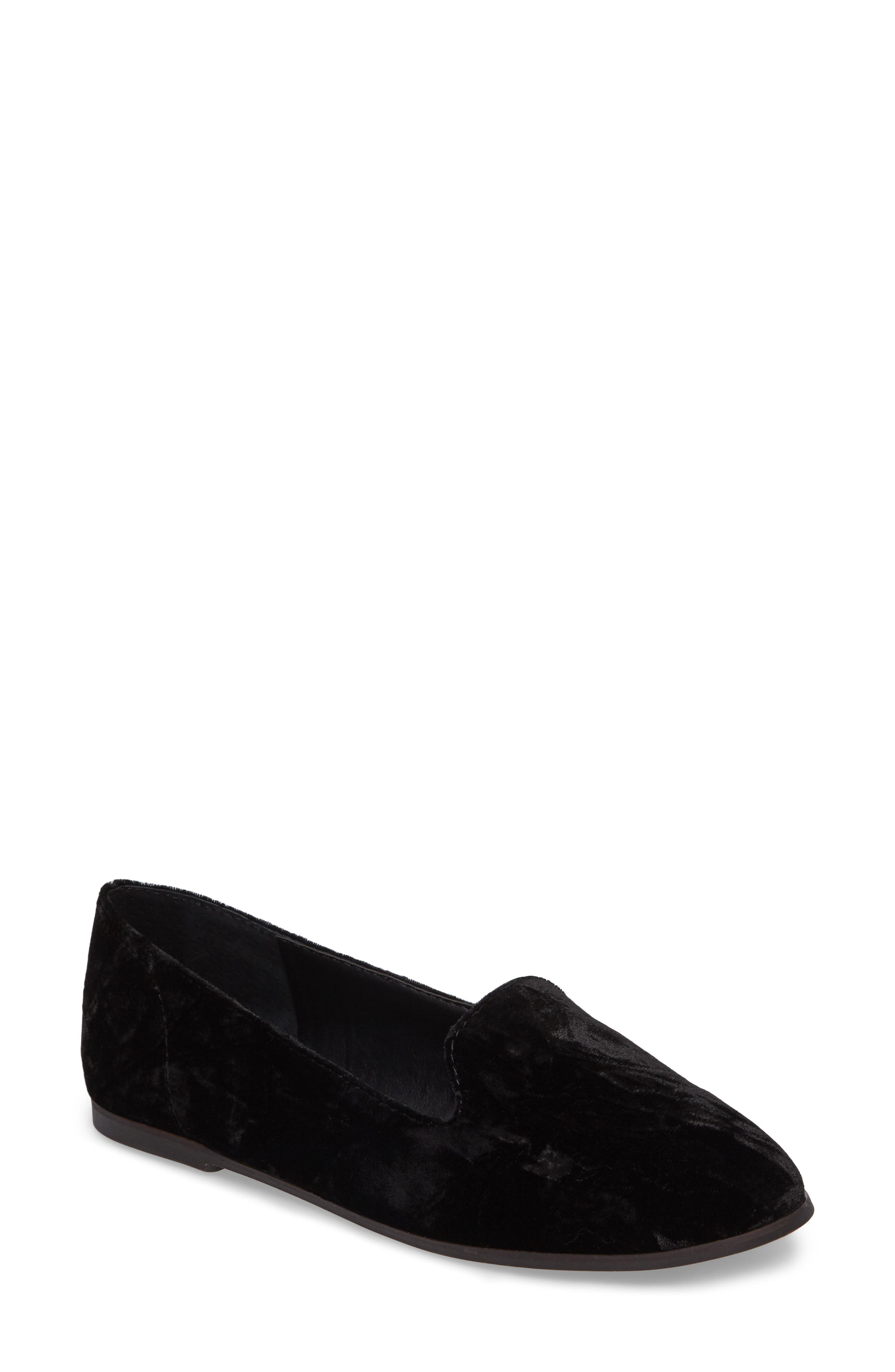 Carlyn Loafer Flat,                         Main,                         color, 001