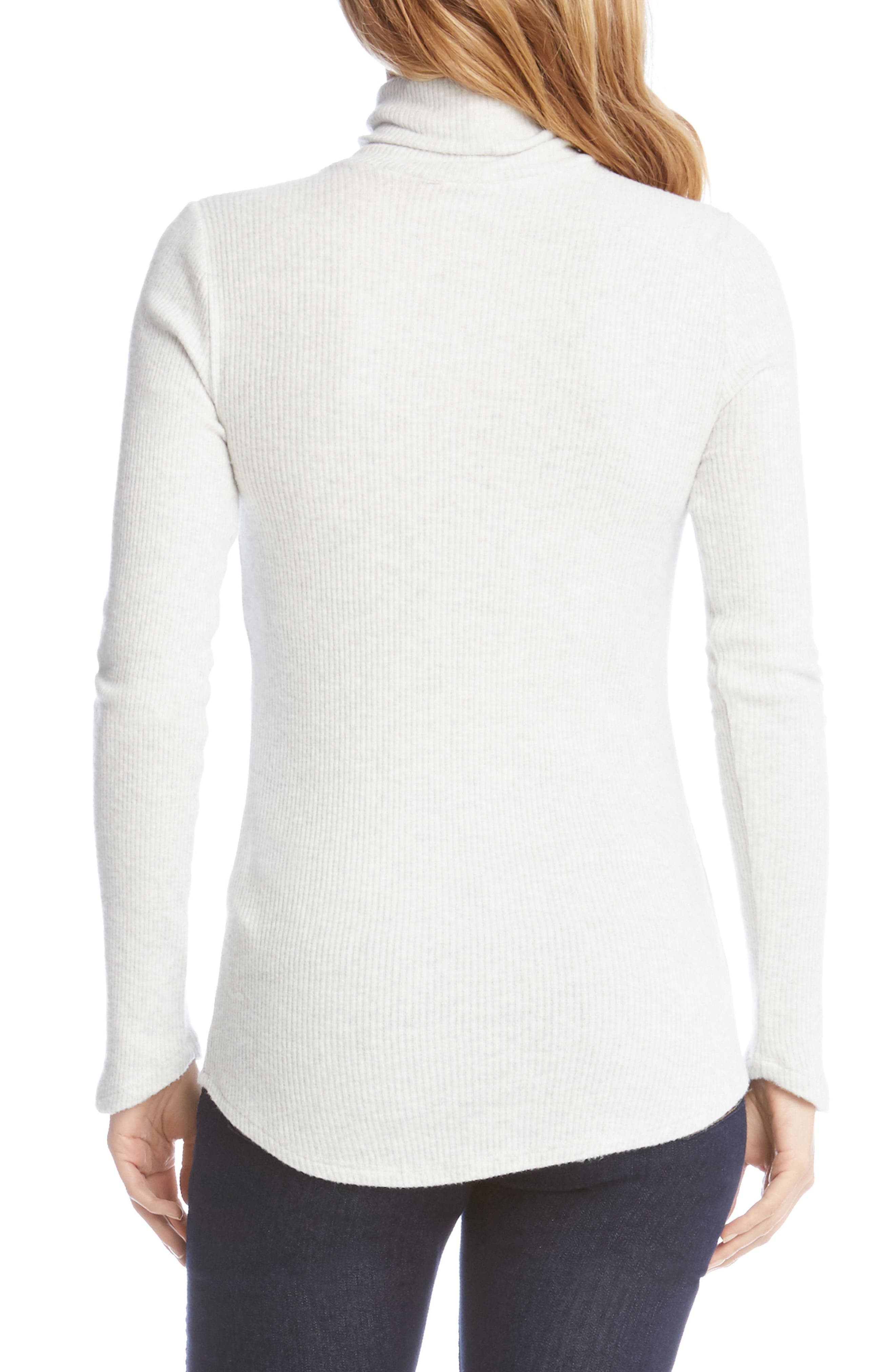 Angled Sleeve Turtleneck,                             Alternate thumbnail 4, color,