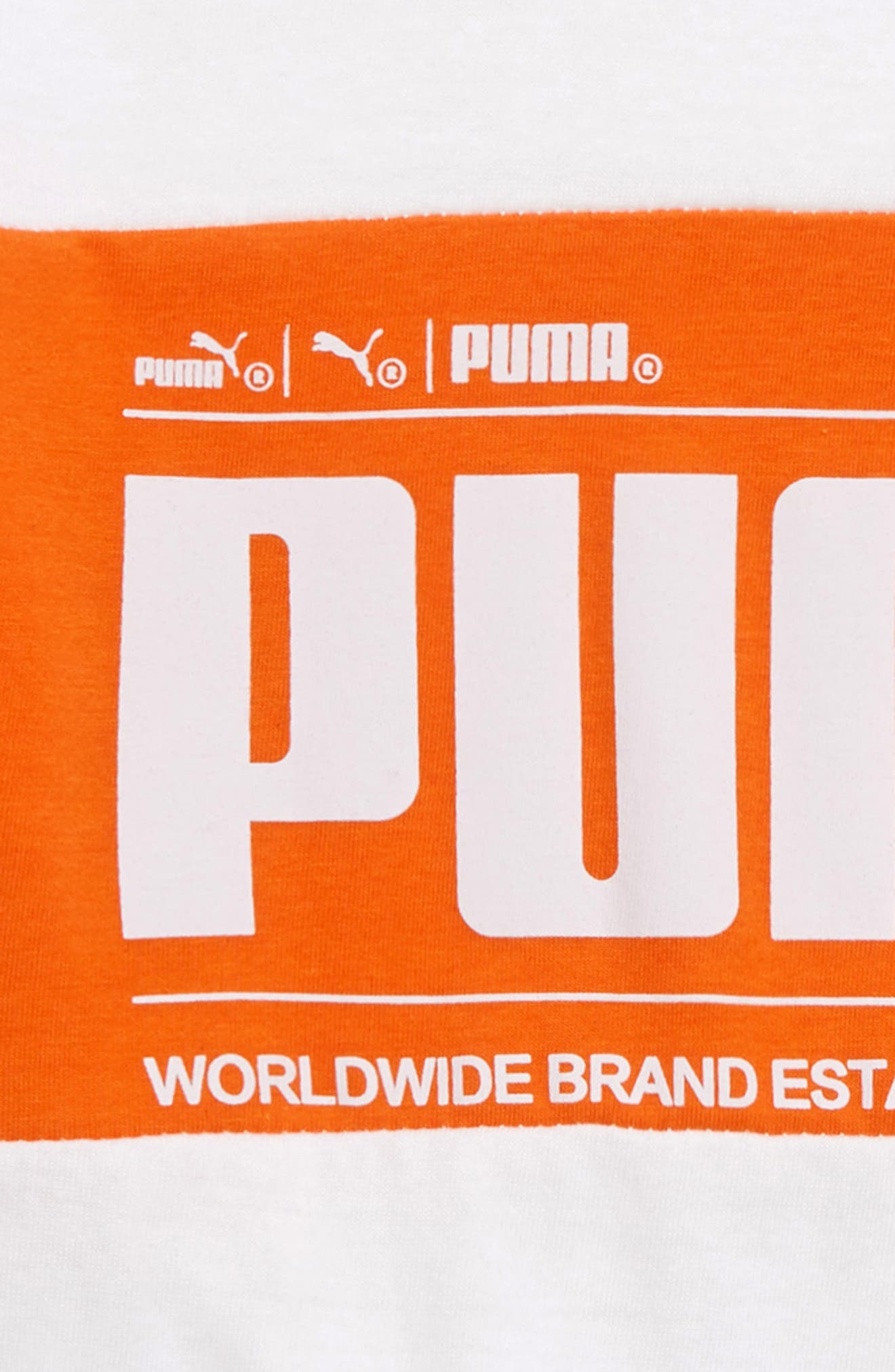 Graphic T-Shirt,                             Alternate thumbnail 2, color,                             PUMA WHITE