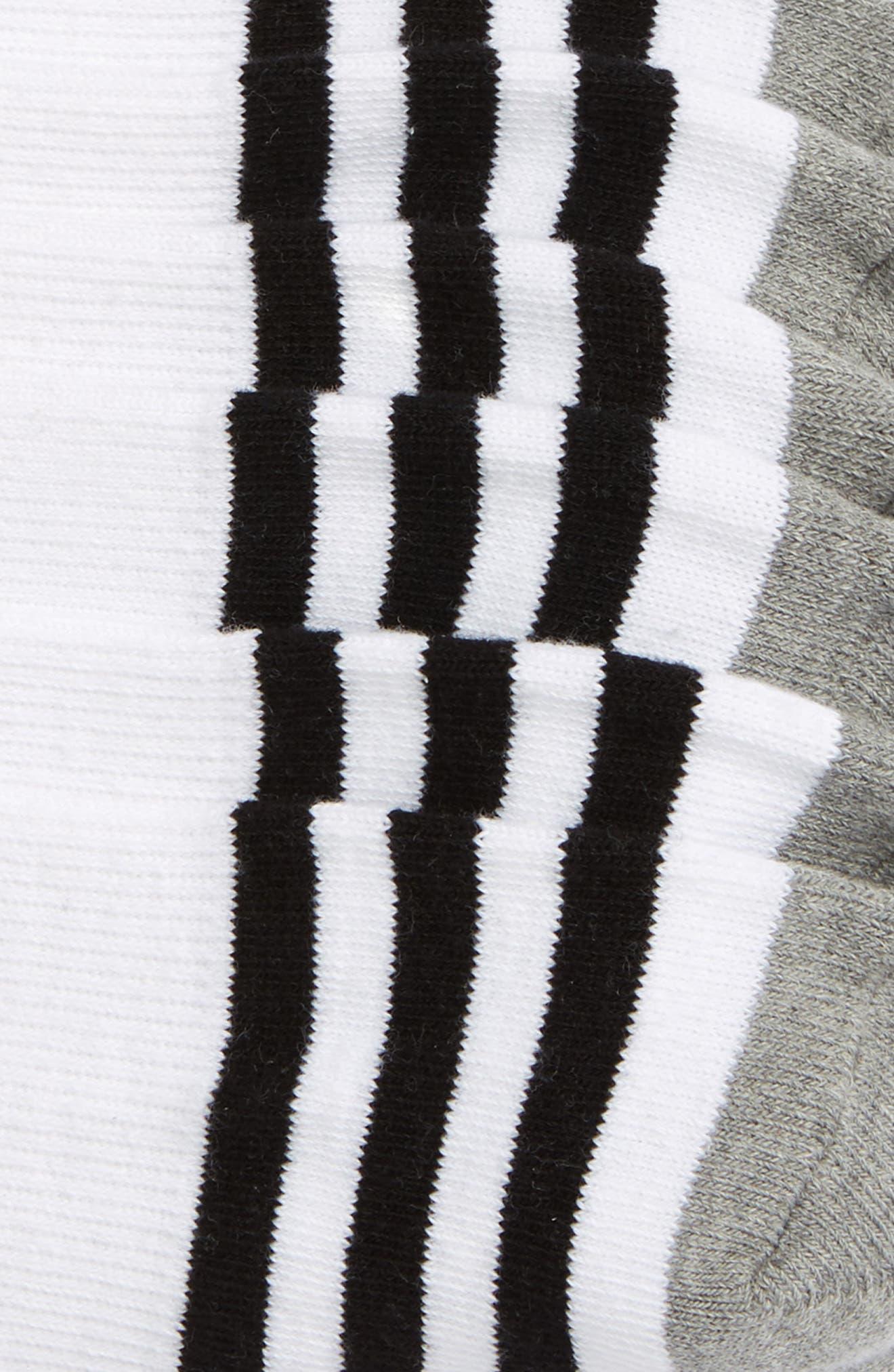 Roller 3-Pack No-Show Socks,                             Alternate thumbnail 2, color,                             101