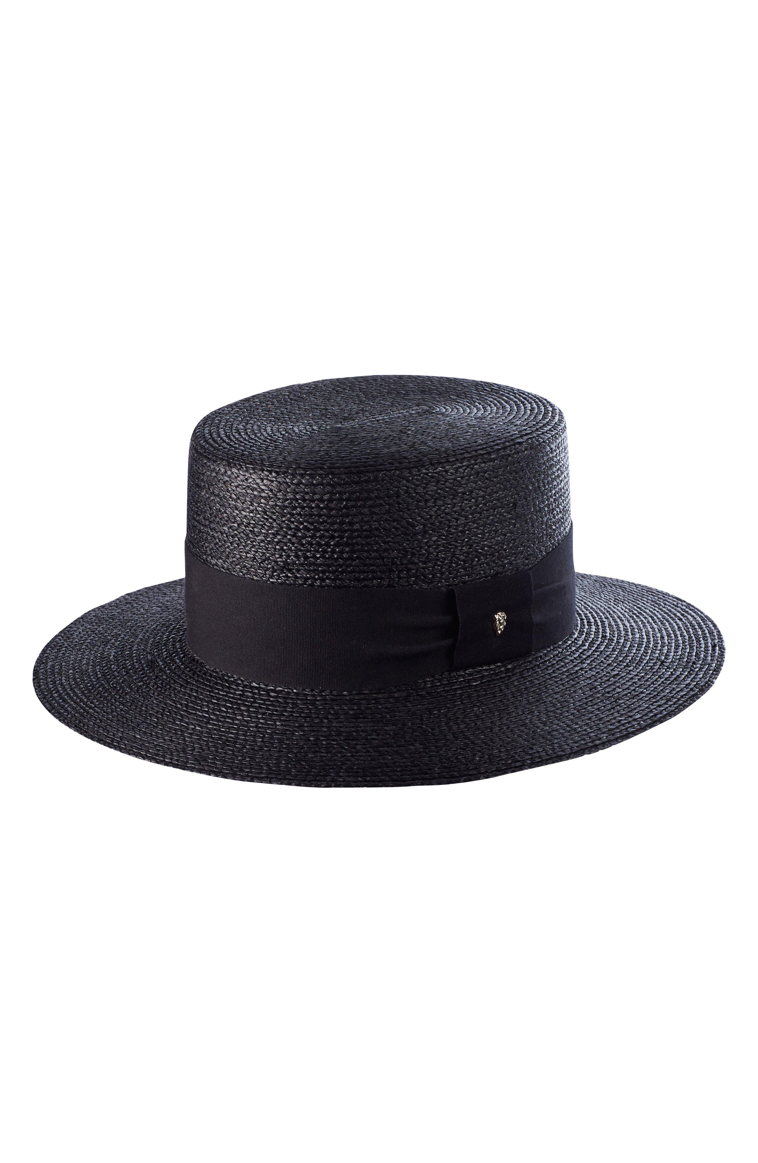 Braided Raffia Boater Hat,                         Main,                         color, 003