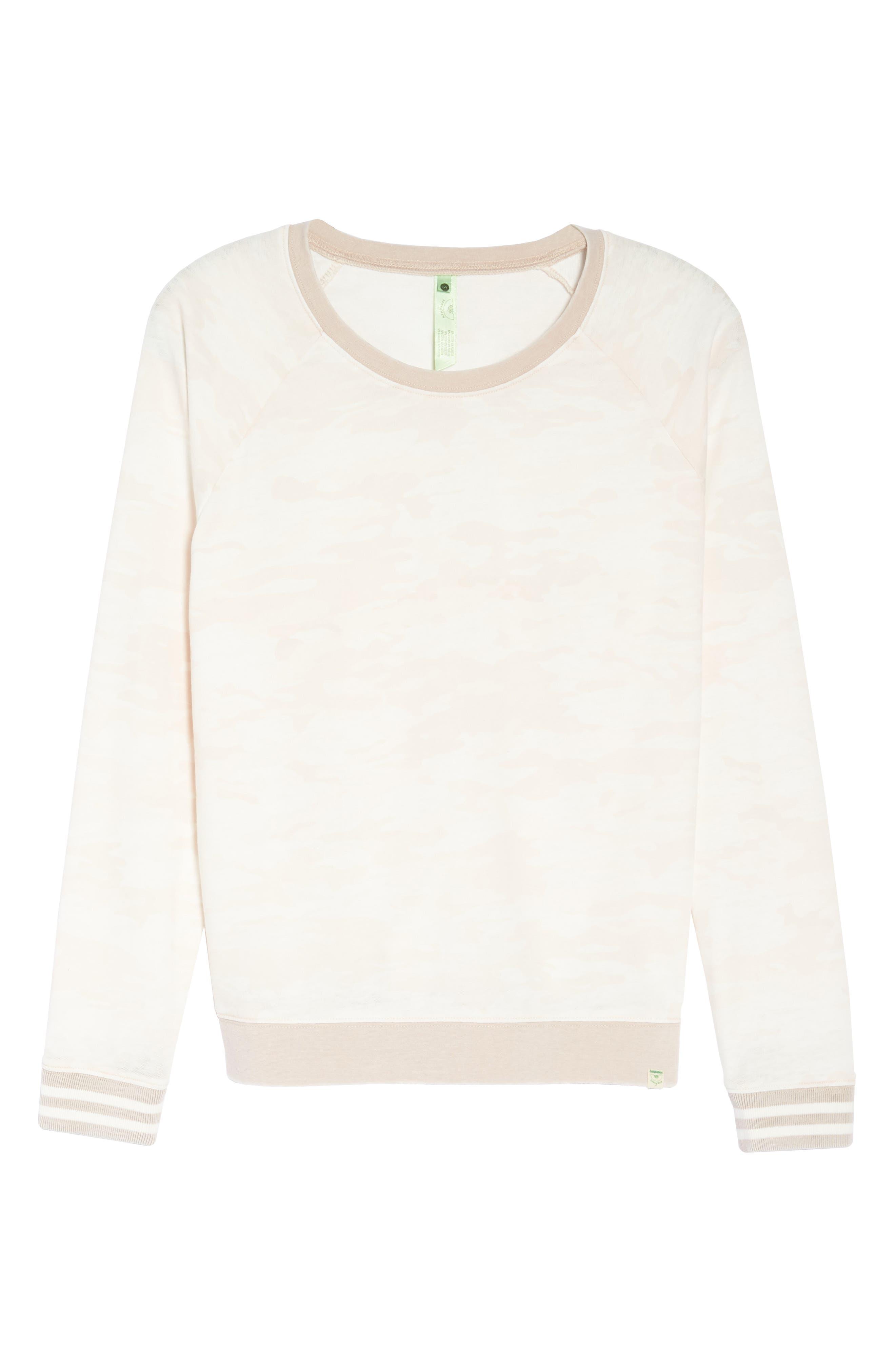Burnout Lounge Sweatshirt,                             Alternate thumbnail 318, color,