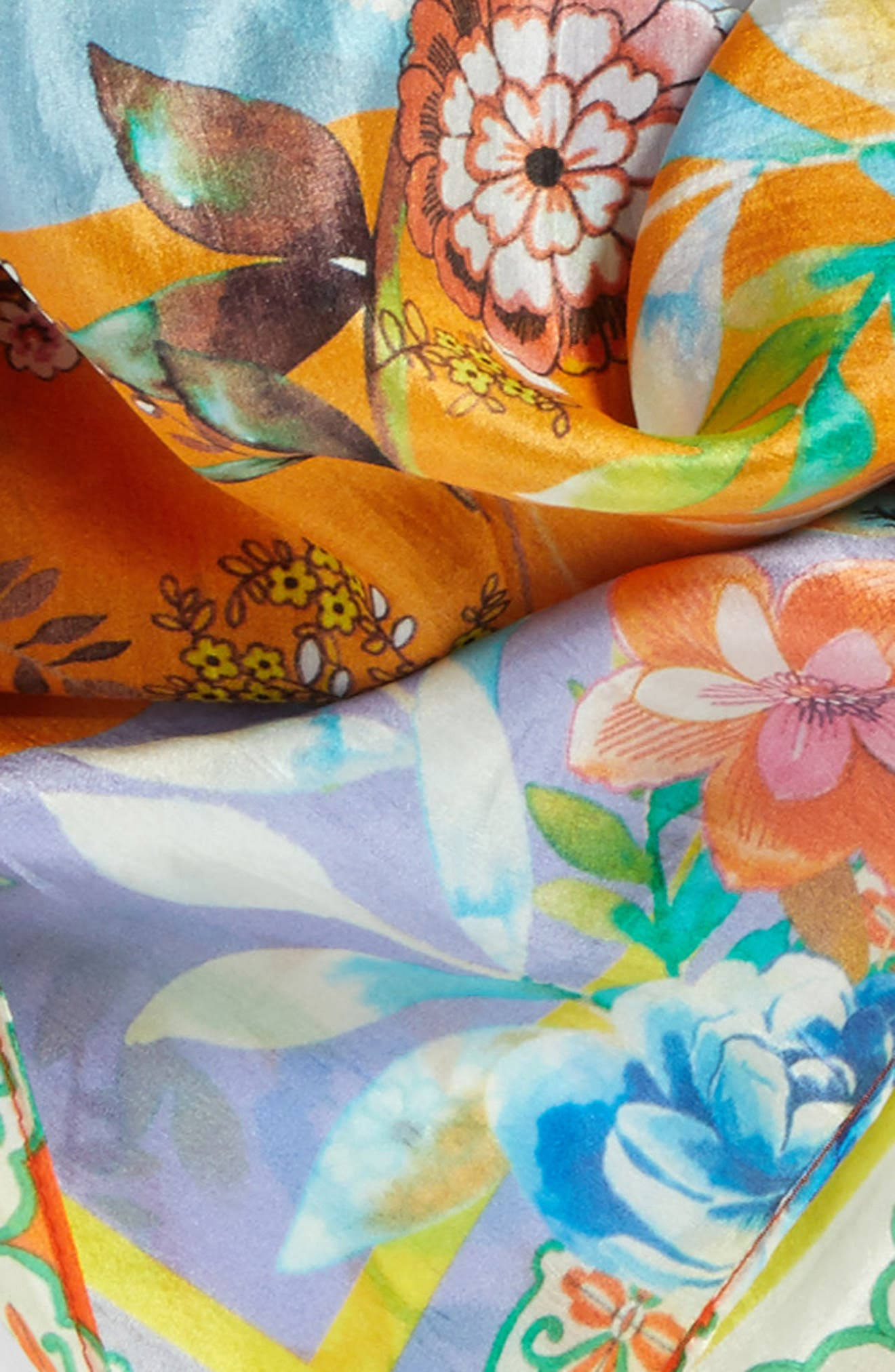 Silk Scarf,                             Alternate thumbnail 4, color,                             110