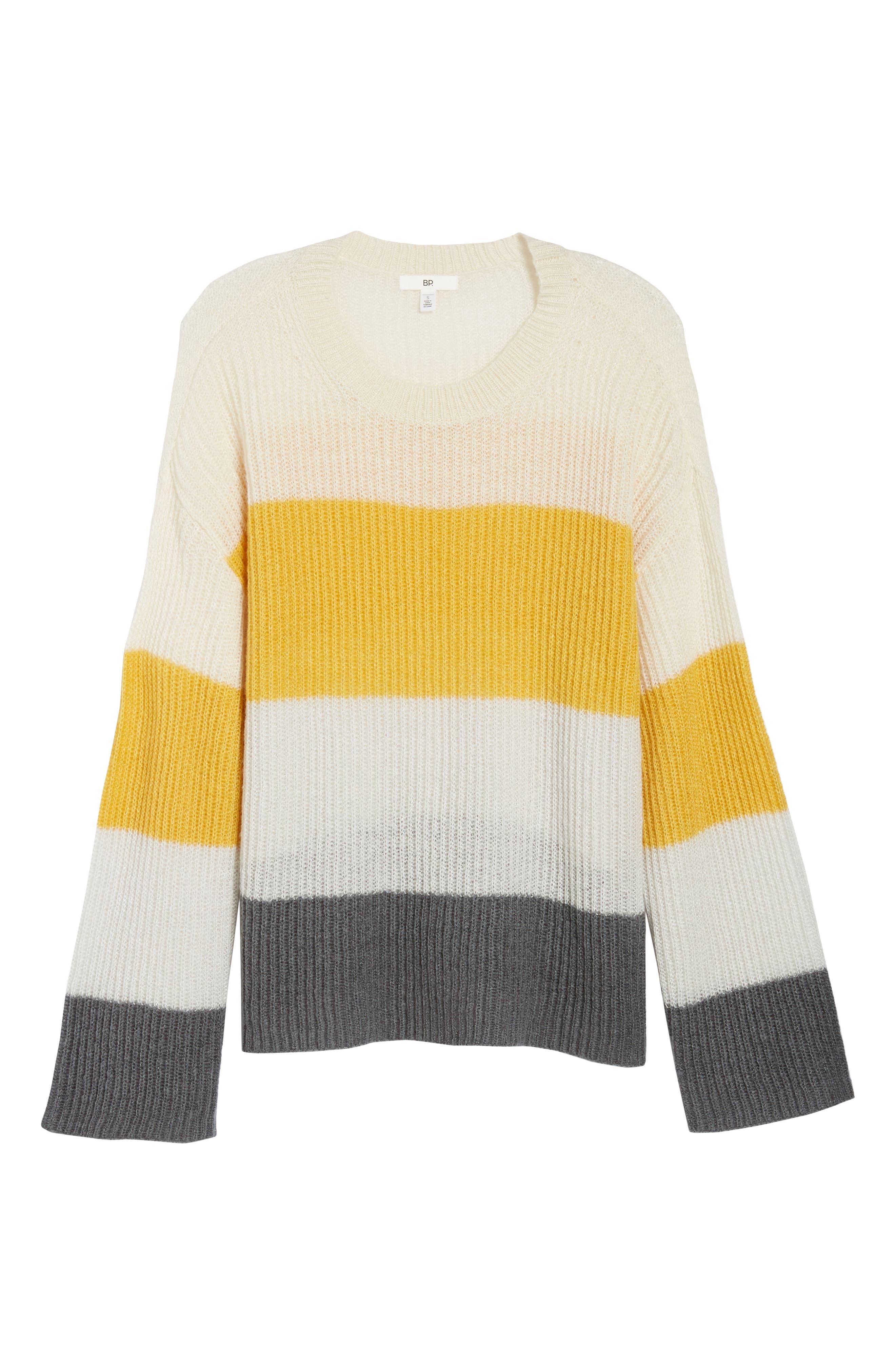 Stripe Pullover,                             Alternate thumbnail 6, color,                             900
