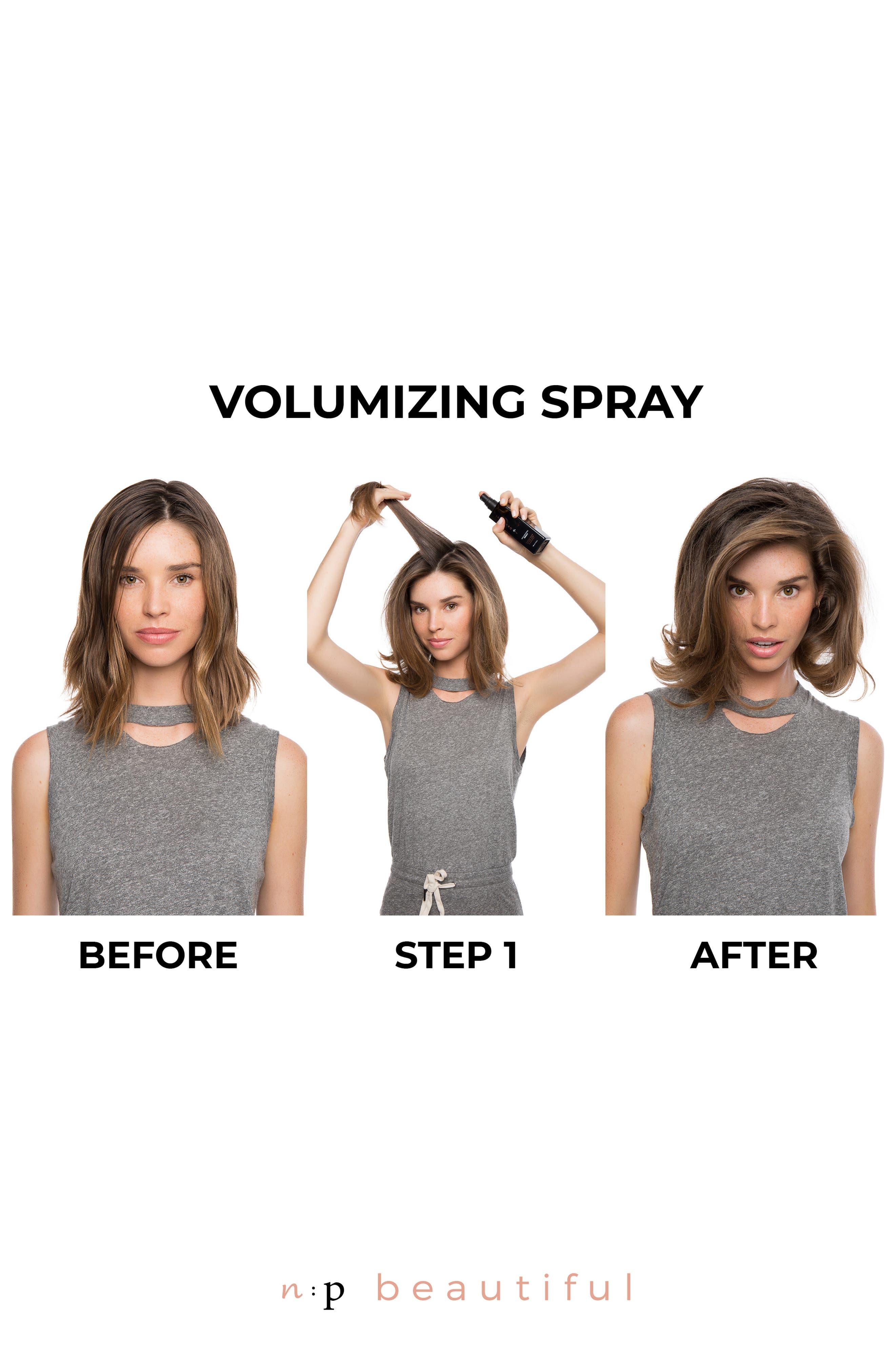 Volumizing Spray,                             Alternate thumbnail 2, color,                             NO COLOR