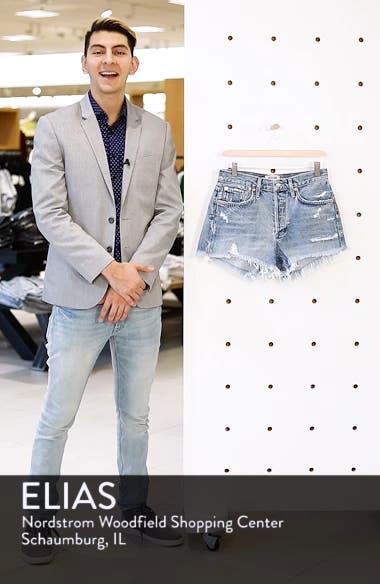 Parker Distressed Denim Shorts, sales video thumbnail