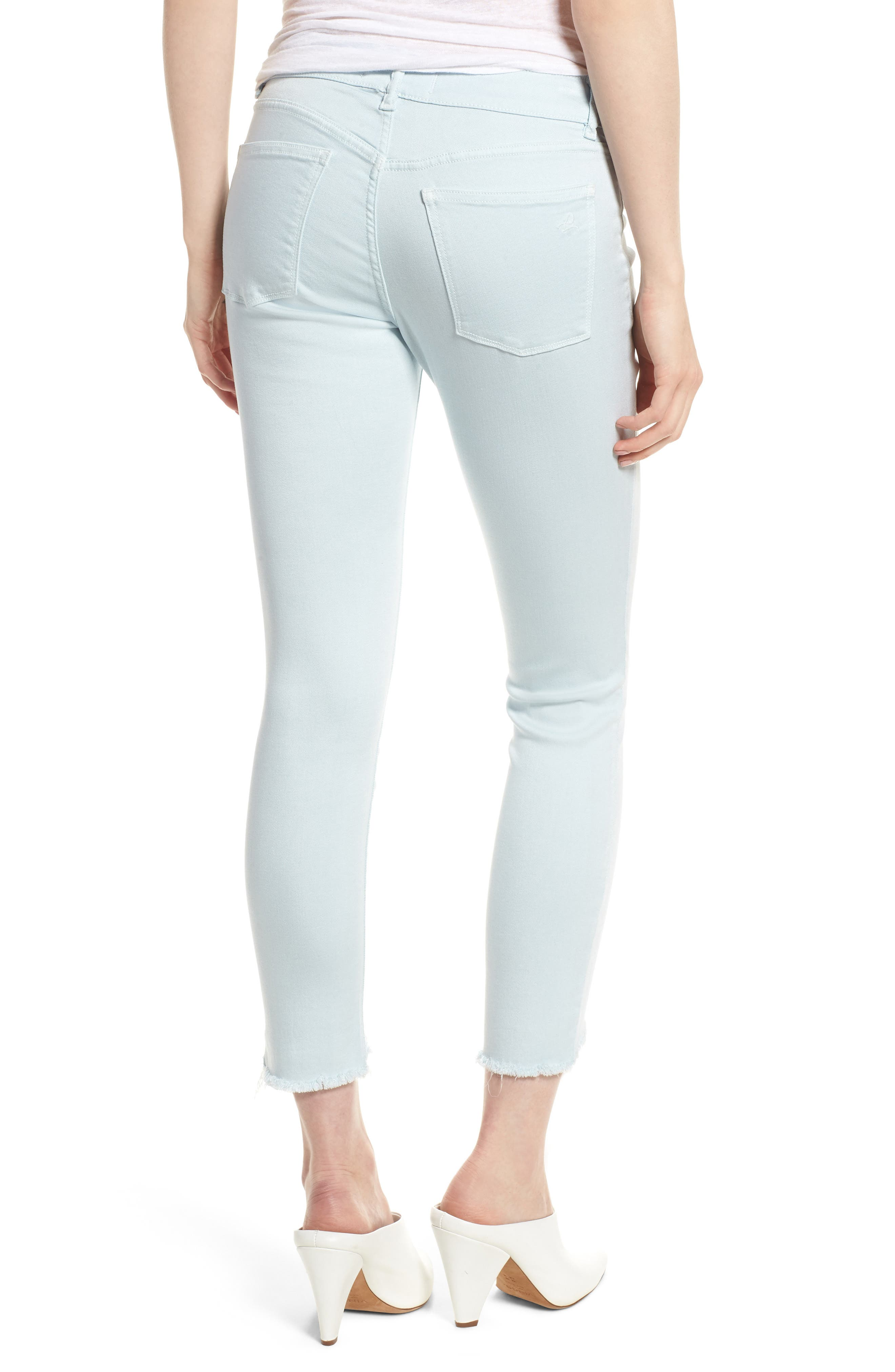 Florence Instasculpt Crop Skinny Jeans,                             Alternate thumbnail 2, color,                             430