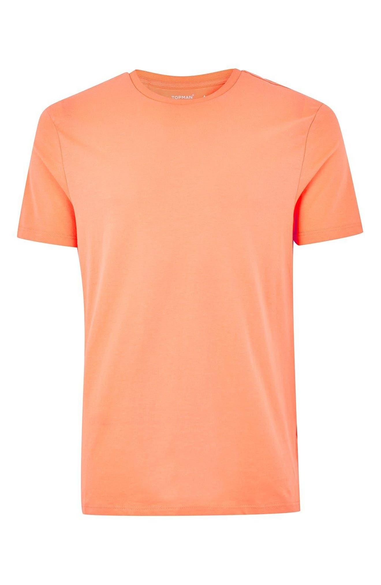 Slim Fit Crewneck T-Shirt,                             Alternate thumbnail 317, color,