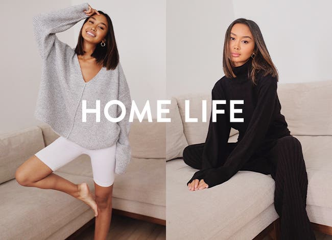 Home life: cozy Nordstrom Made women's clothing.