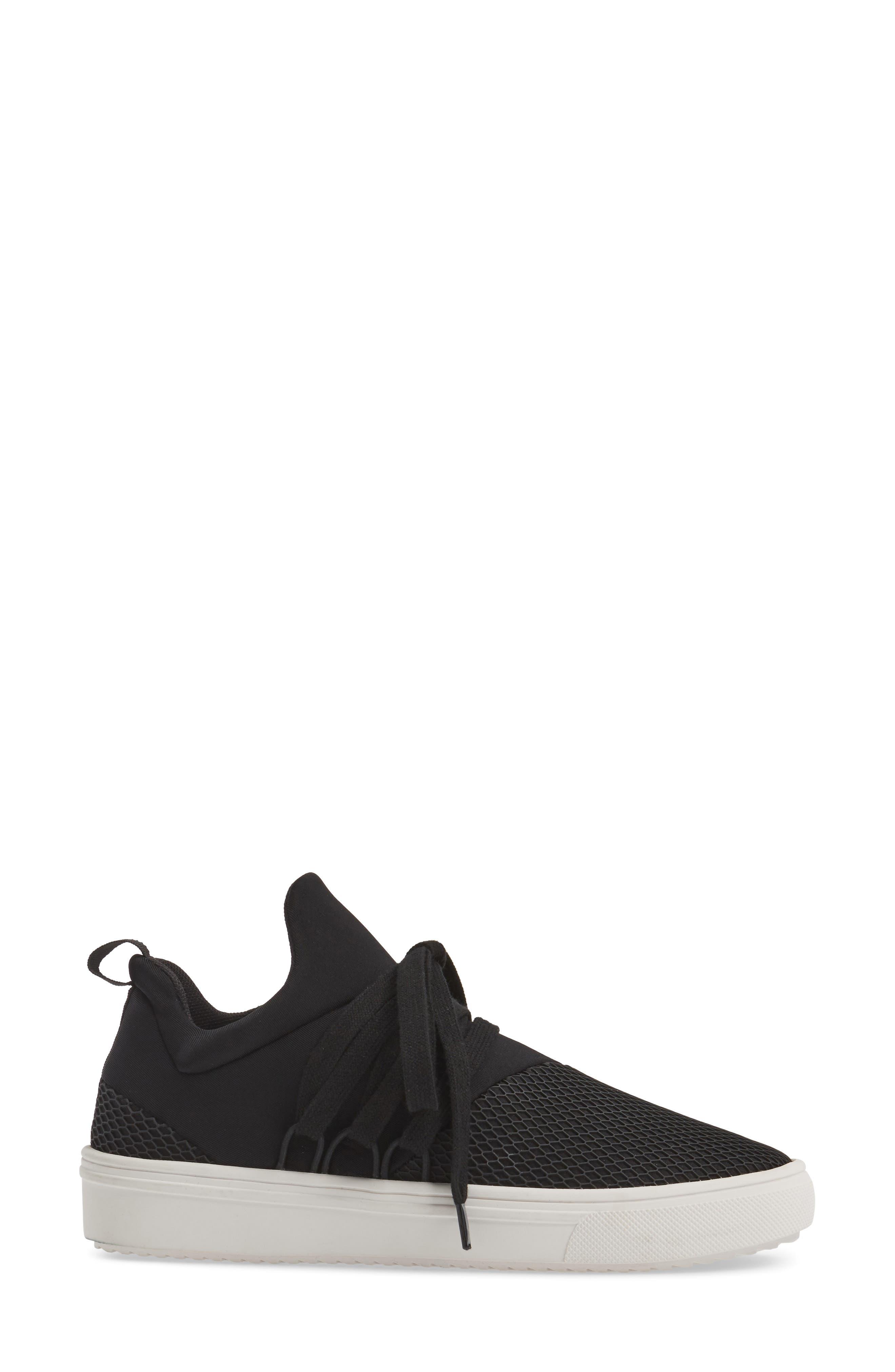 Lancer Sneaker,                             Alternate thumbnail 3, color,                             BLACK