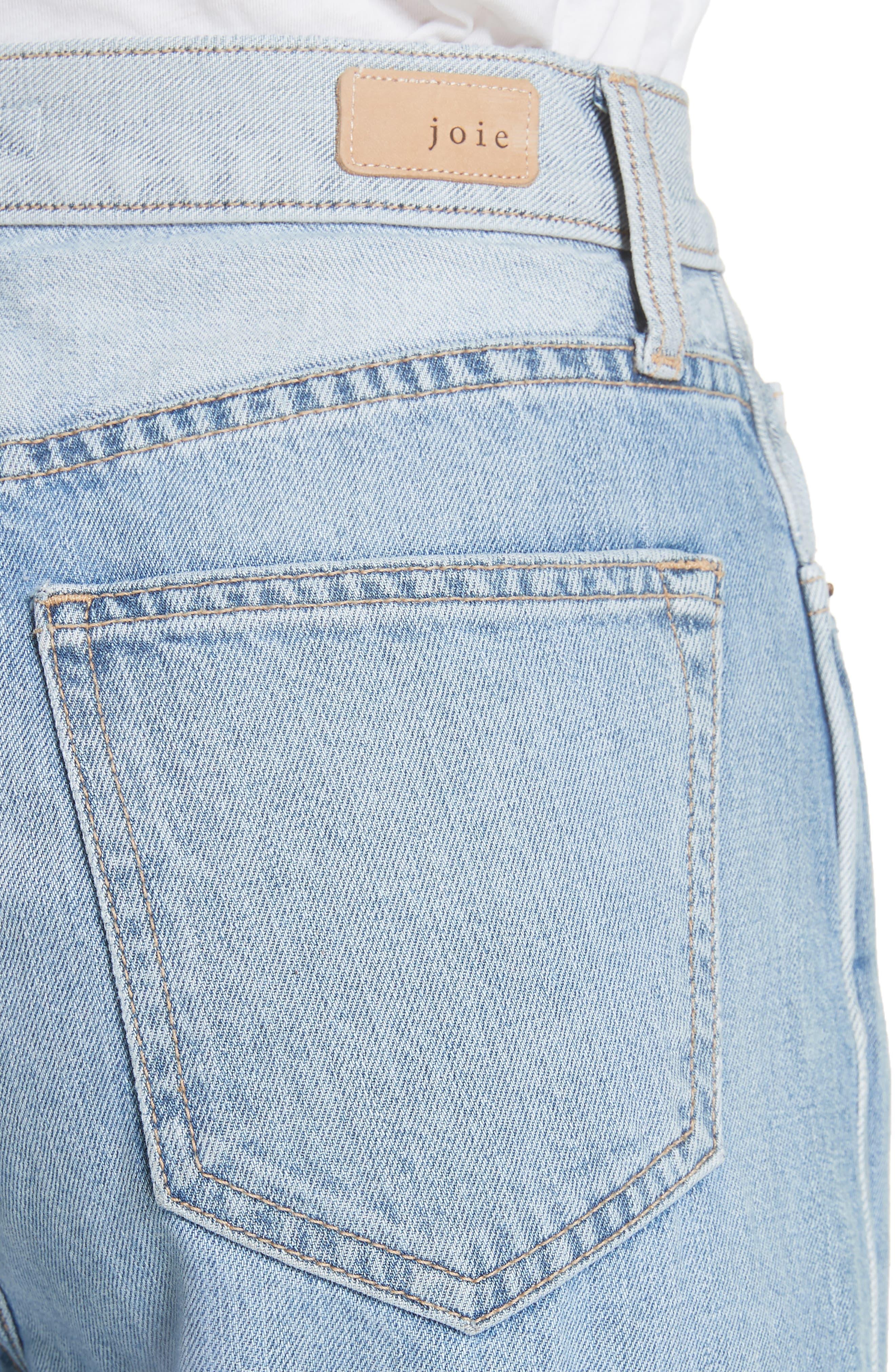 Isemene Wide Leg Jeans,                             Alternate thumbnail 4, color,                             450