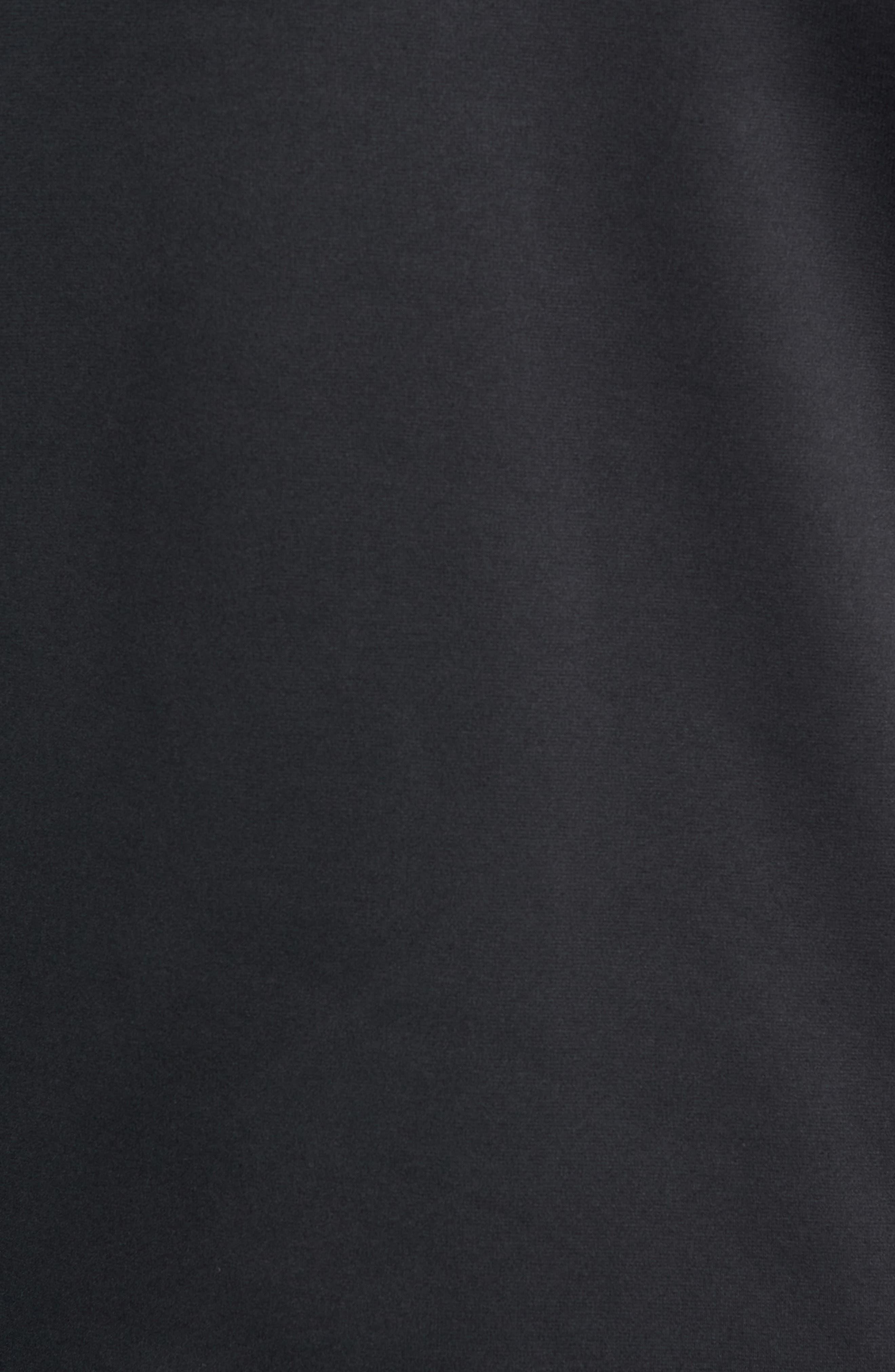 Quarter Zip Pullover,                             Alternate thumbnail 5, color,                             BLACK/ DARK GREY