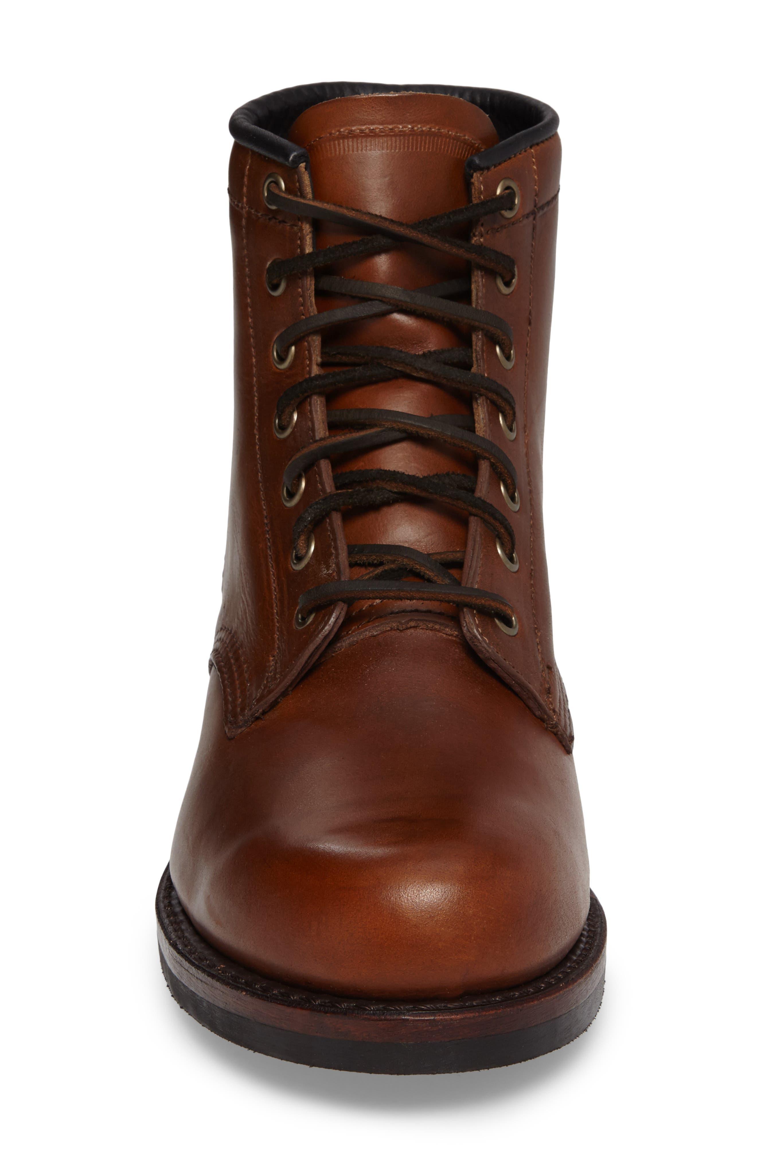 John Addison Plain Toe Boot,                             Alternate thumbnail 4, color,                             218