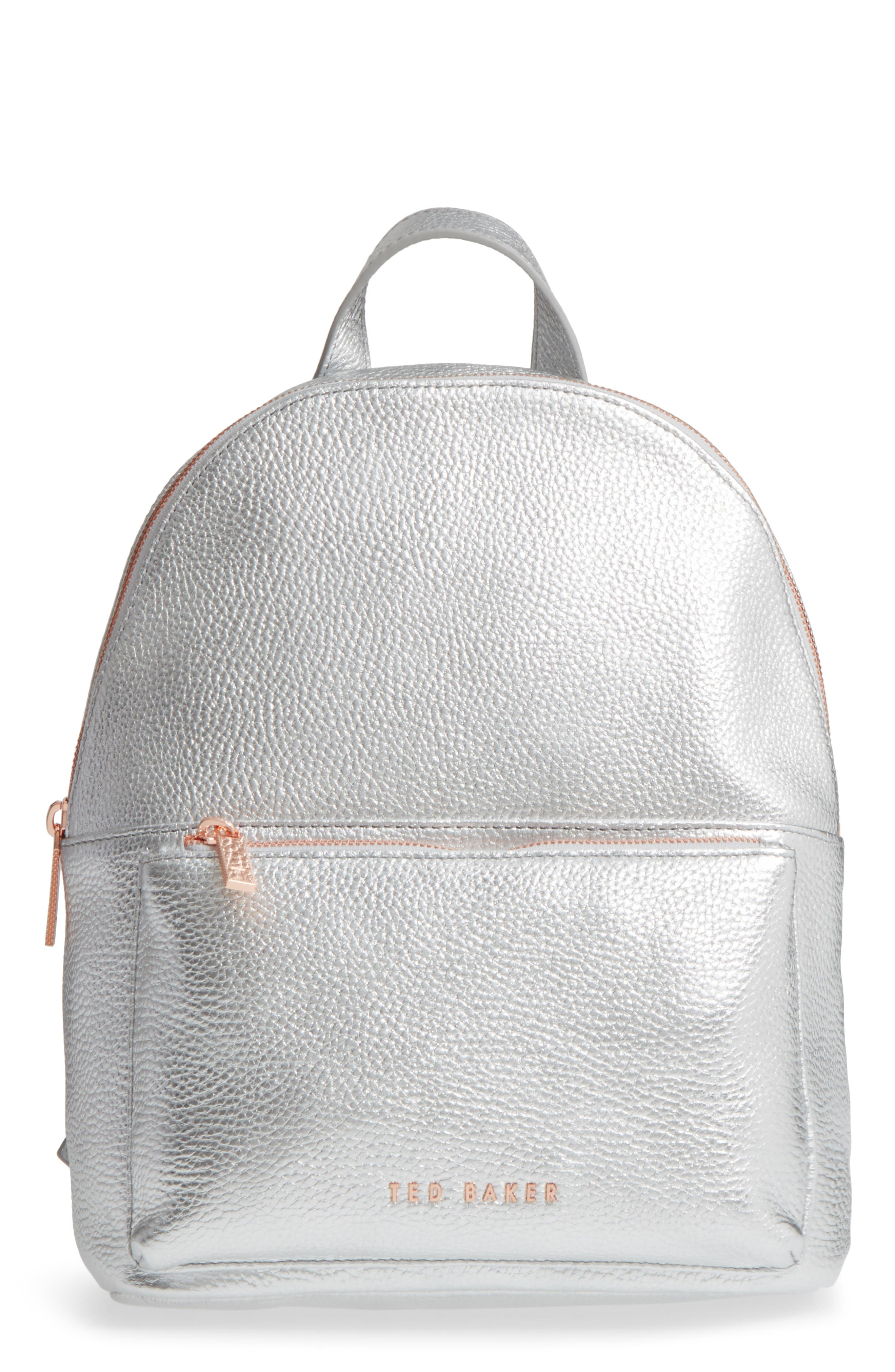 Pearen Leather Backpack,                             Main thumbnail 2, color,