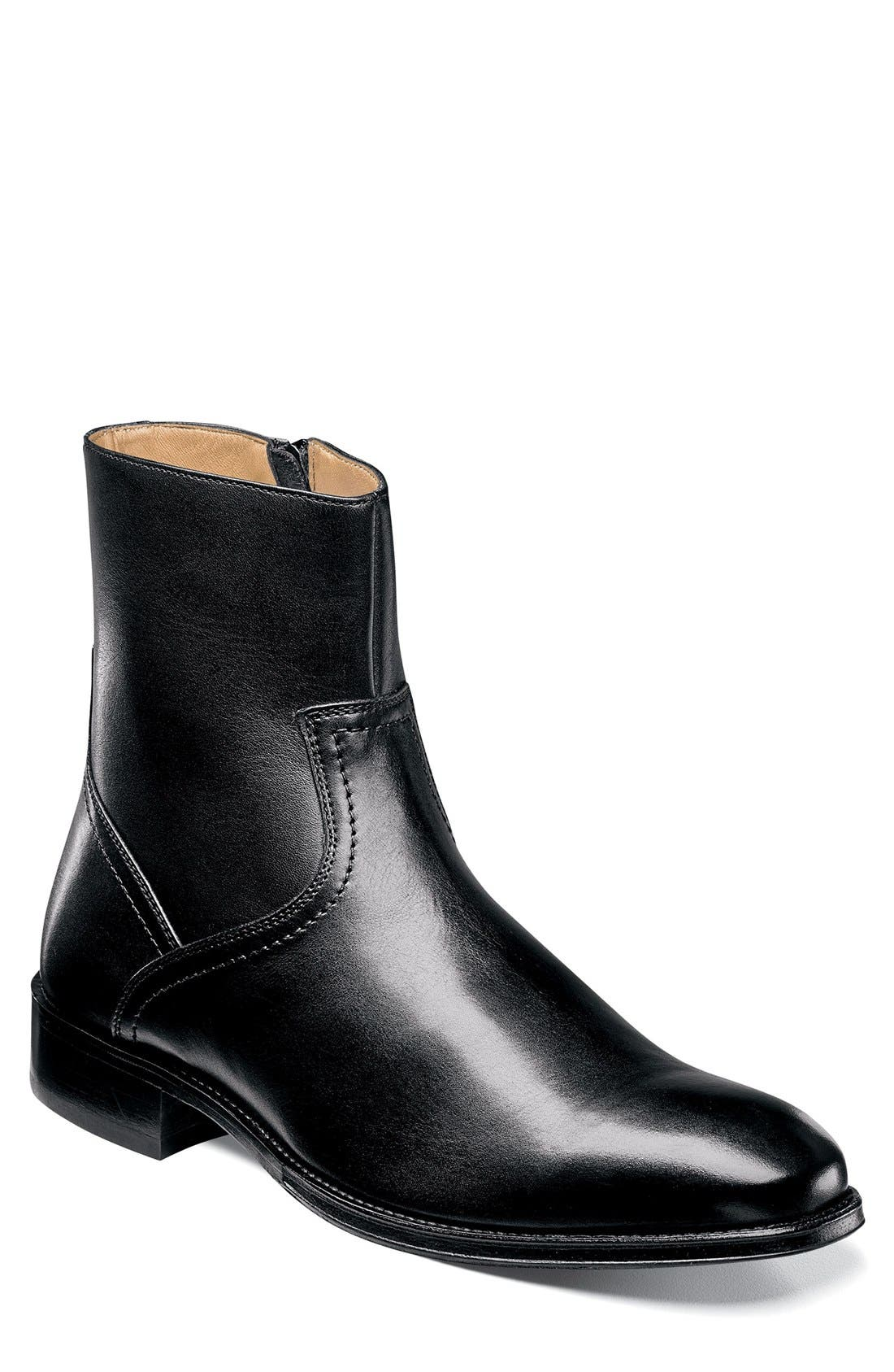 Capital Zip Boot,                             Main thumbnail 1, color,                             001