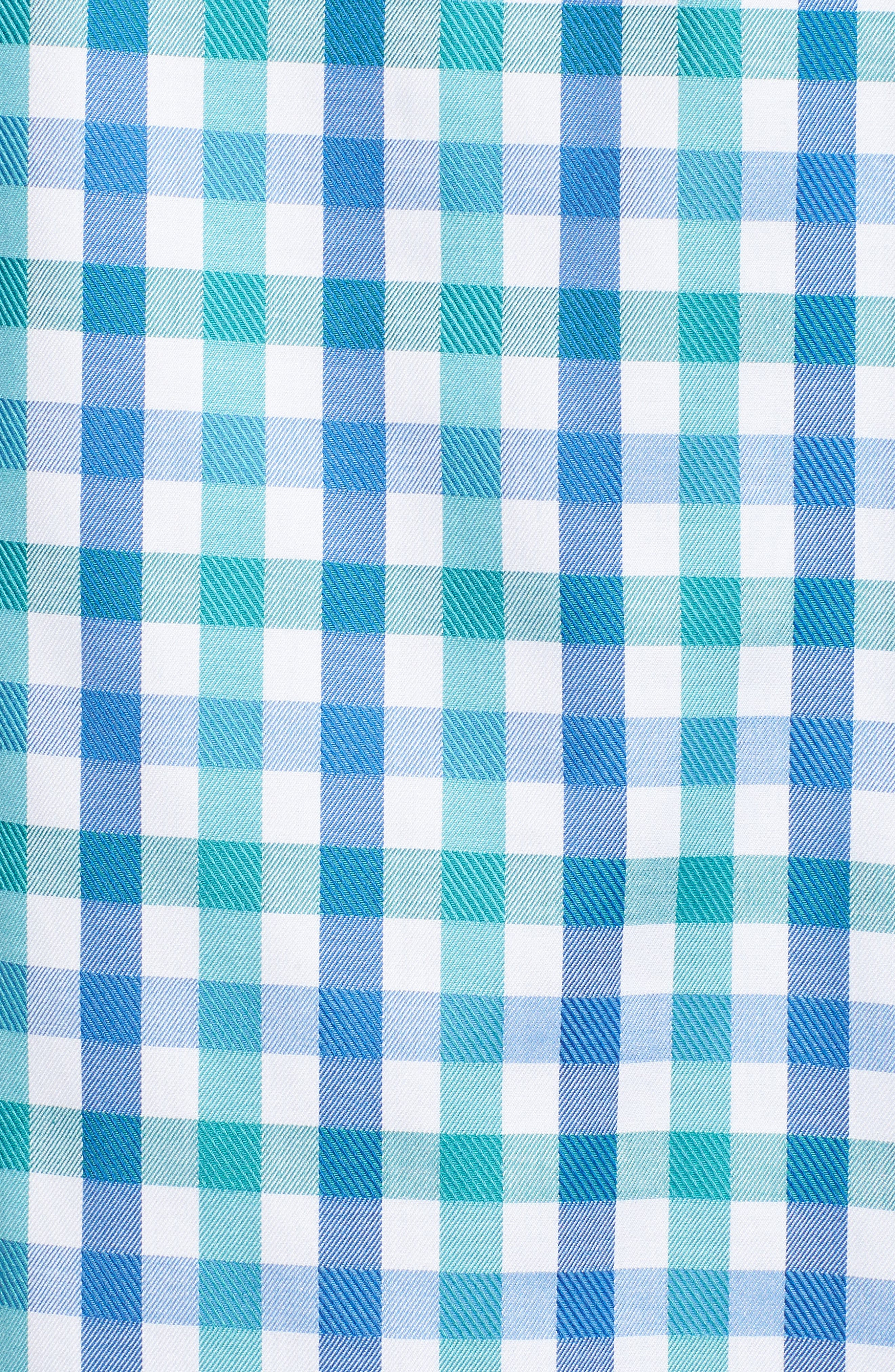 Classic Fit Gingham Check Sport Shirt,                             Alternate thumbnail 5, color,                             313